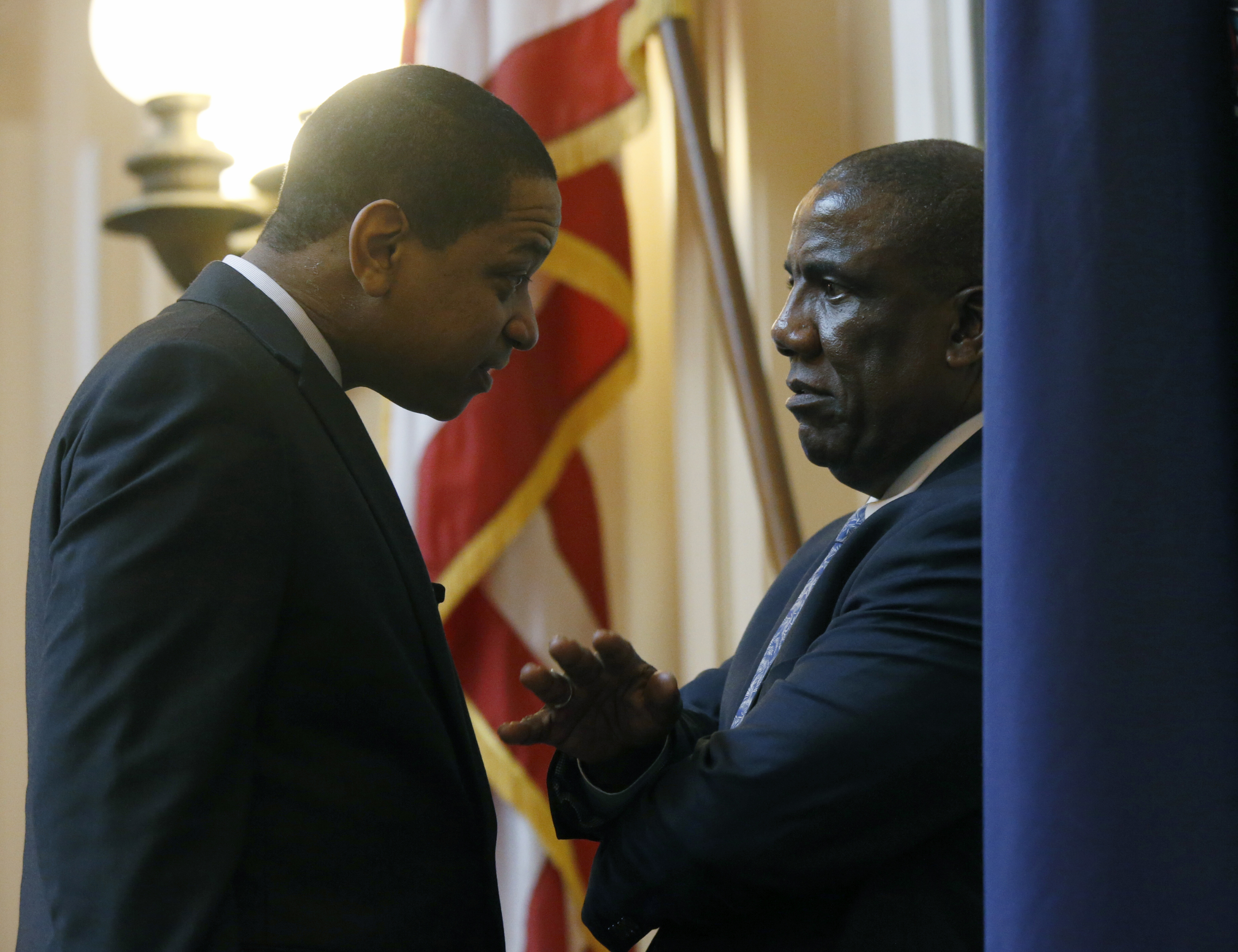 Democrats speechless as scandal engulfs Virginia's leaders
