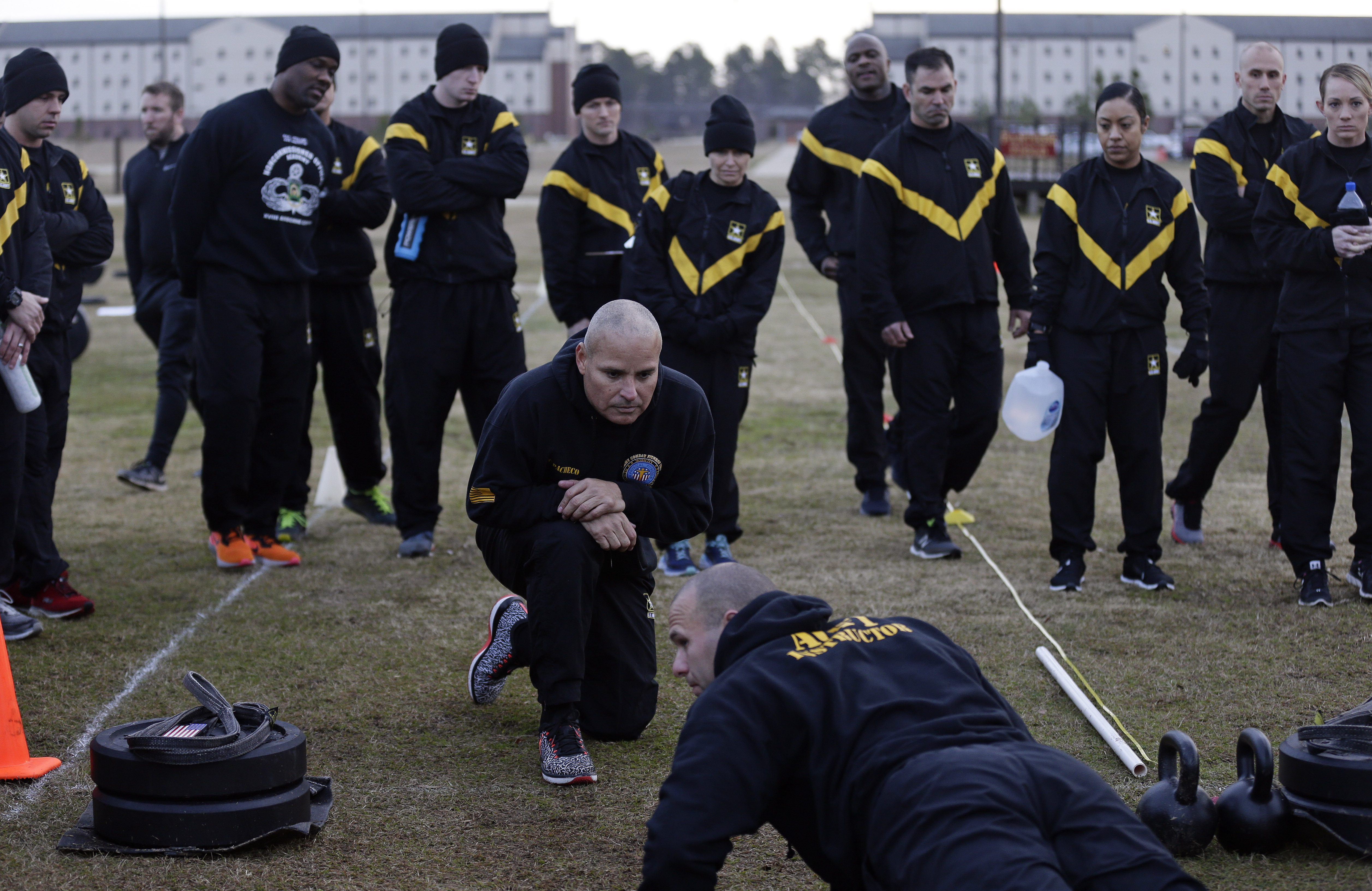 Army aims for more combat-ready troops with new fitness test