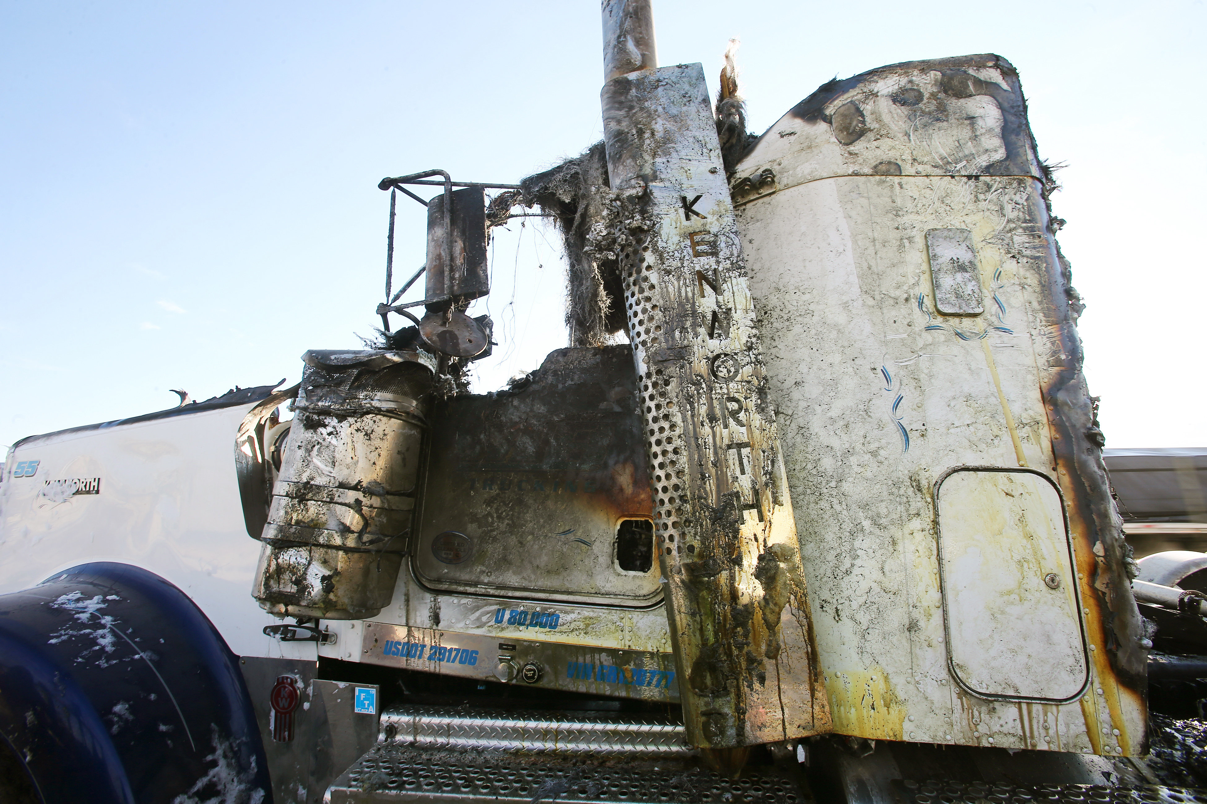 Tanker fire causes extensive damage to I-15 freeway in Salt