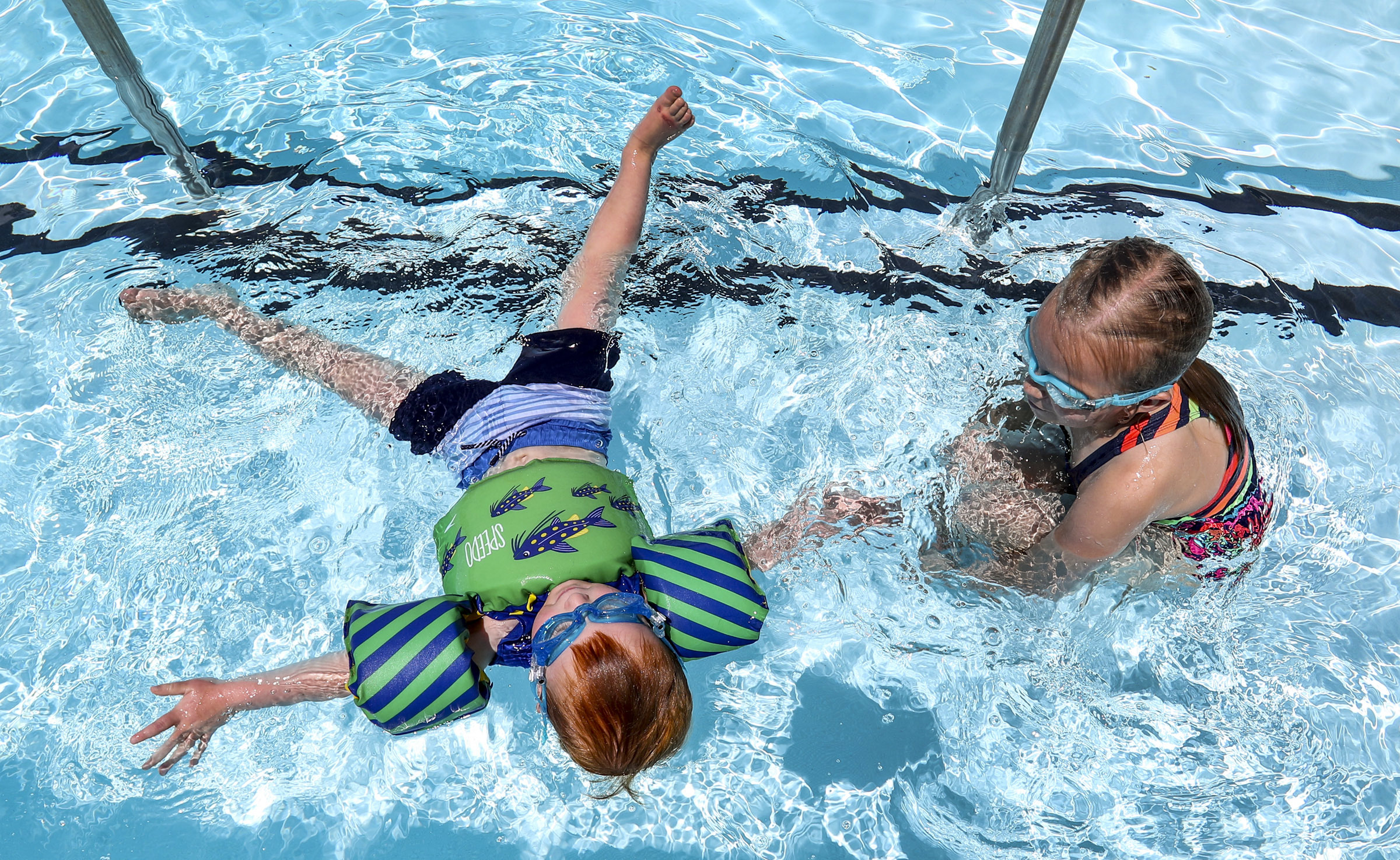 Child's near drowning in Utah cautions parents to remain