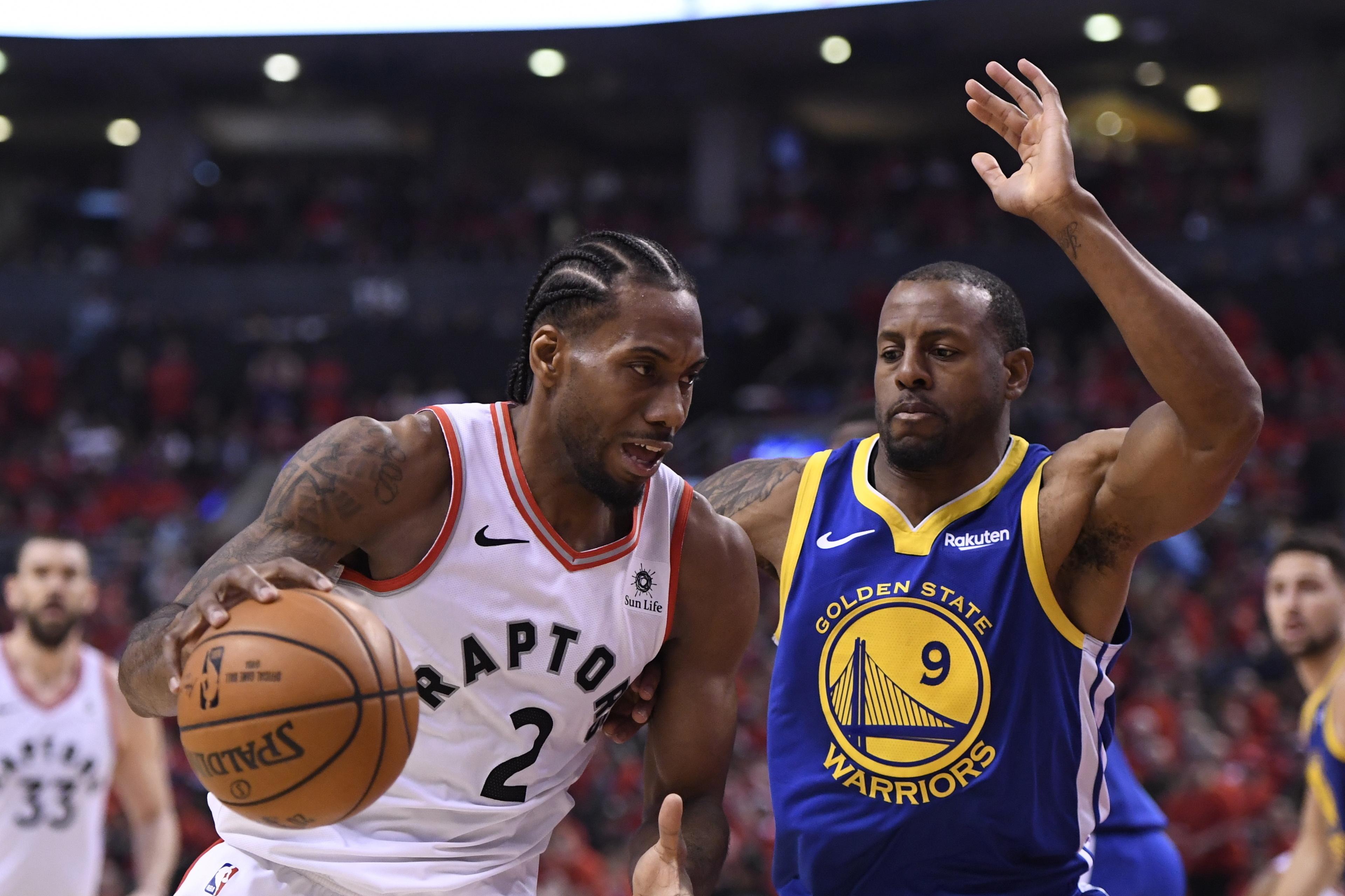 1501a2d008e55 Toronto Raptors capture first NBA title, beat Golden State Warriors ...