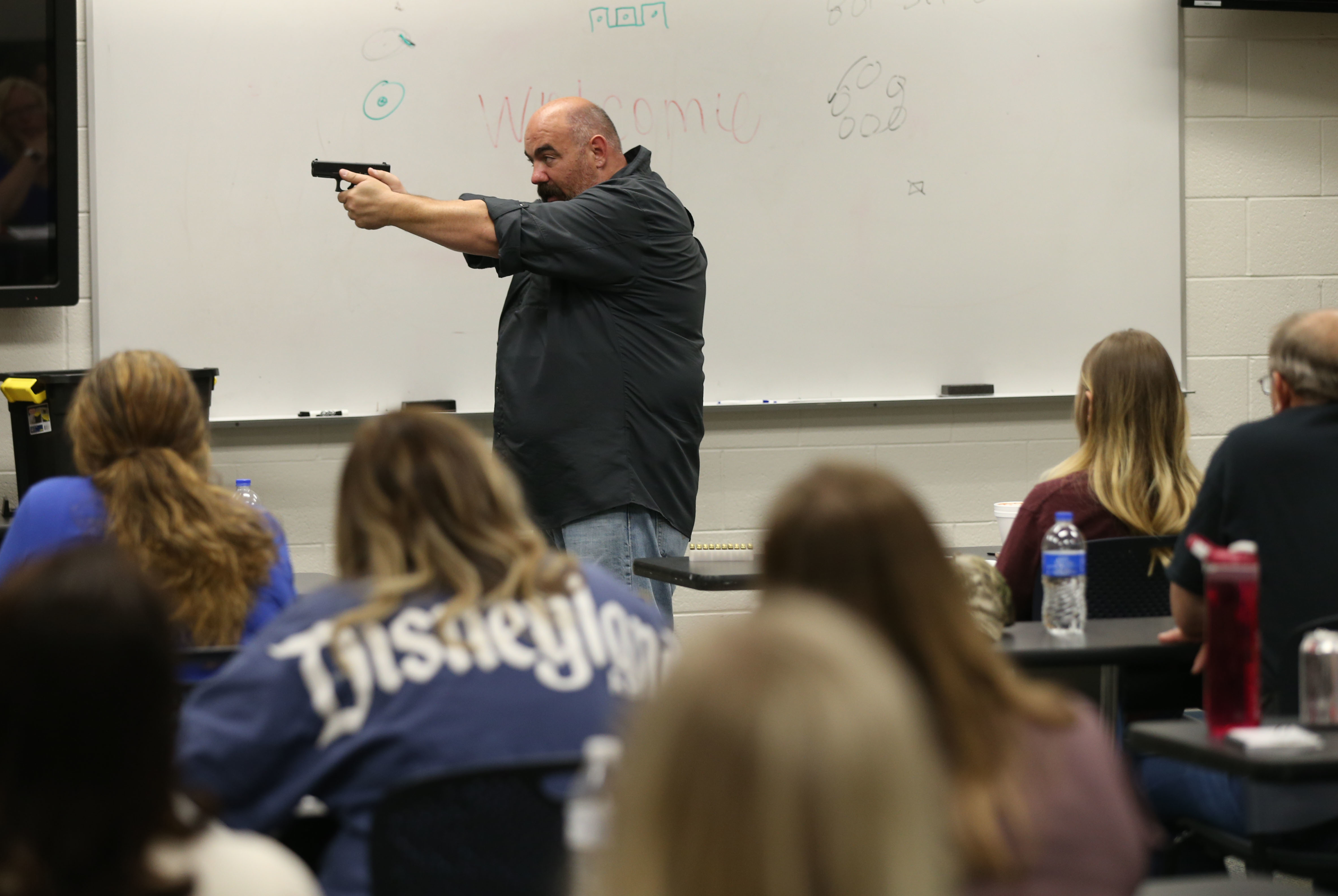 Why more Utah teachers are considering carrying guns in the
