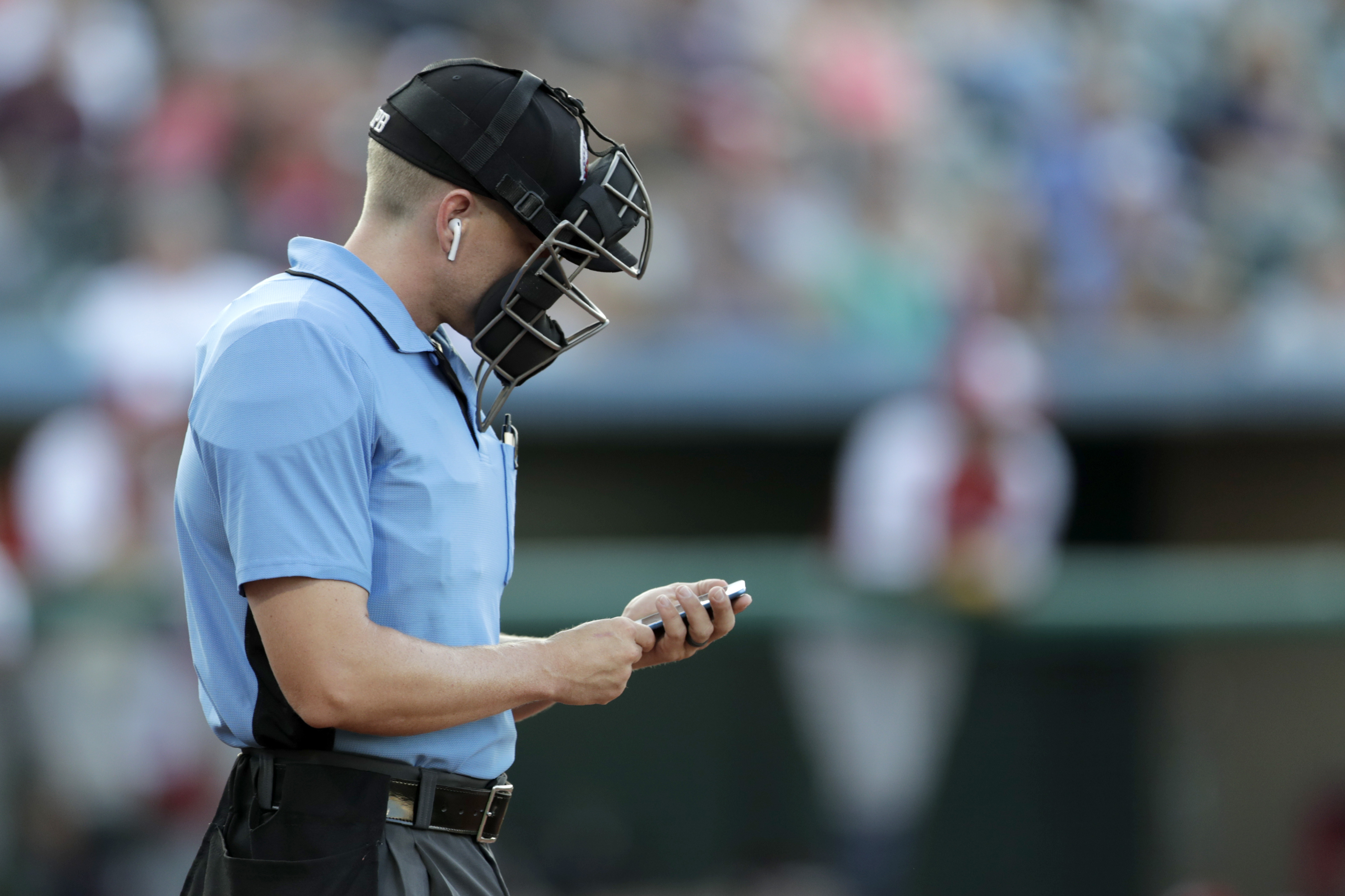 Robot umpires' debut in independent Atlantic League to call