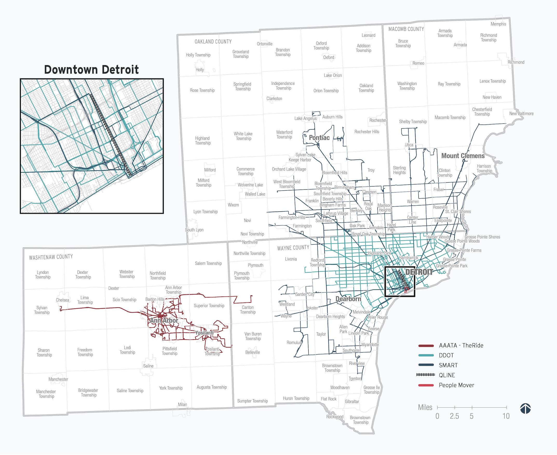 RTA updates its master transit plan for Southeast Michigan