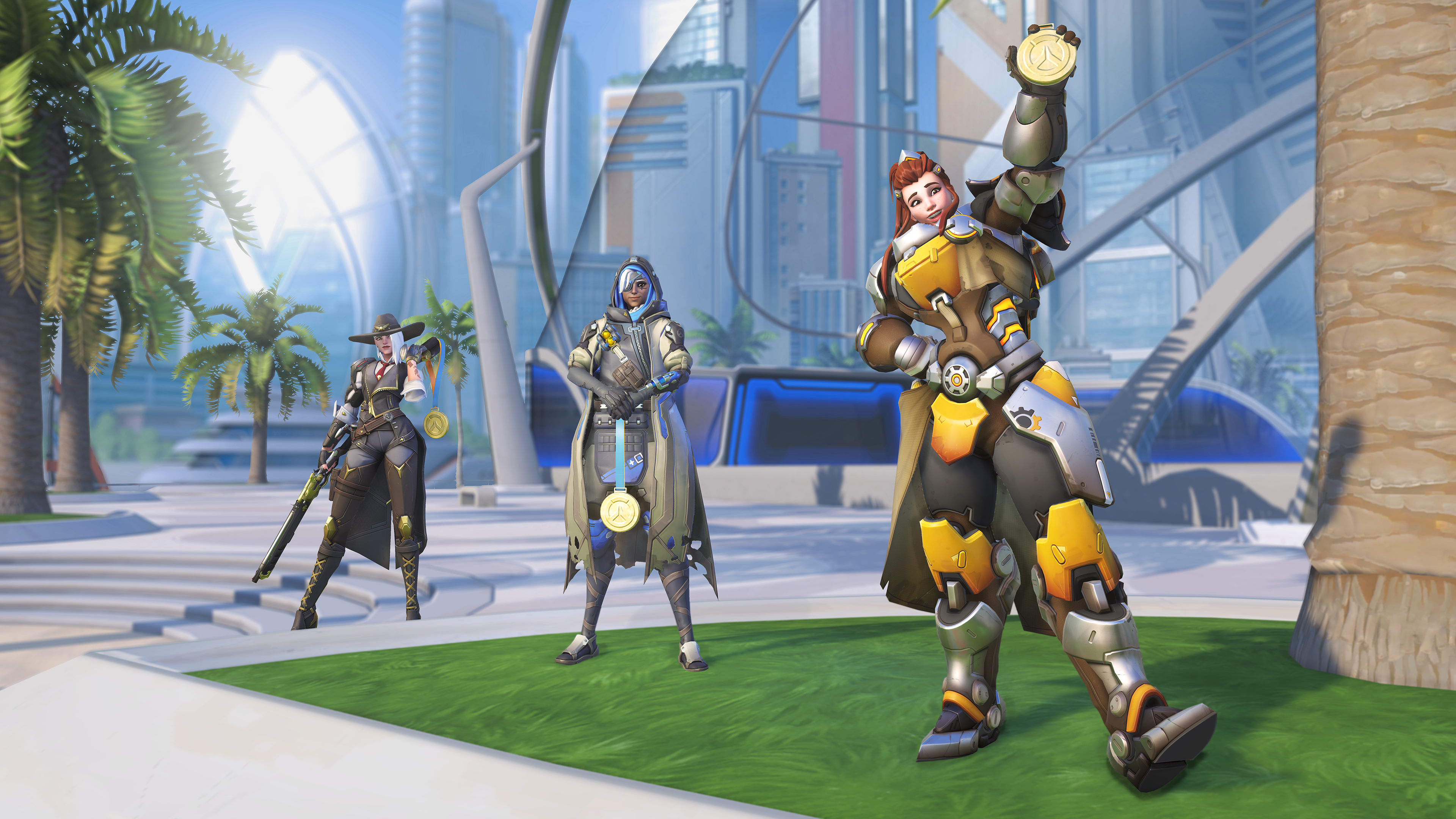 Overwatch Summer Games 2019: new skins, sprays, and more
