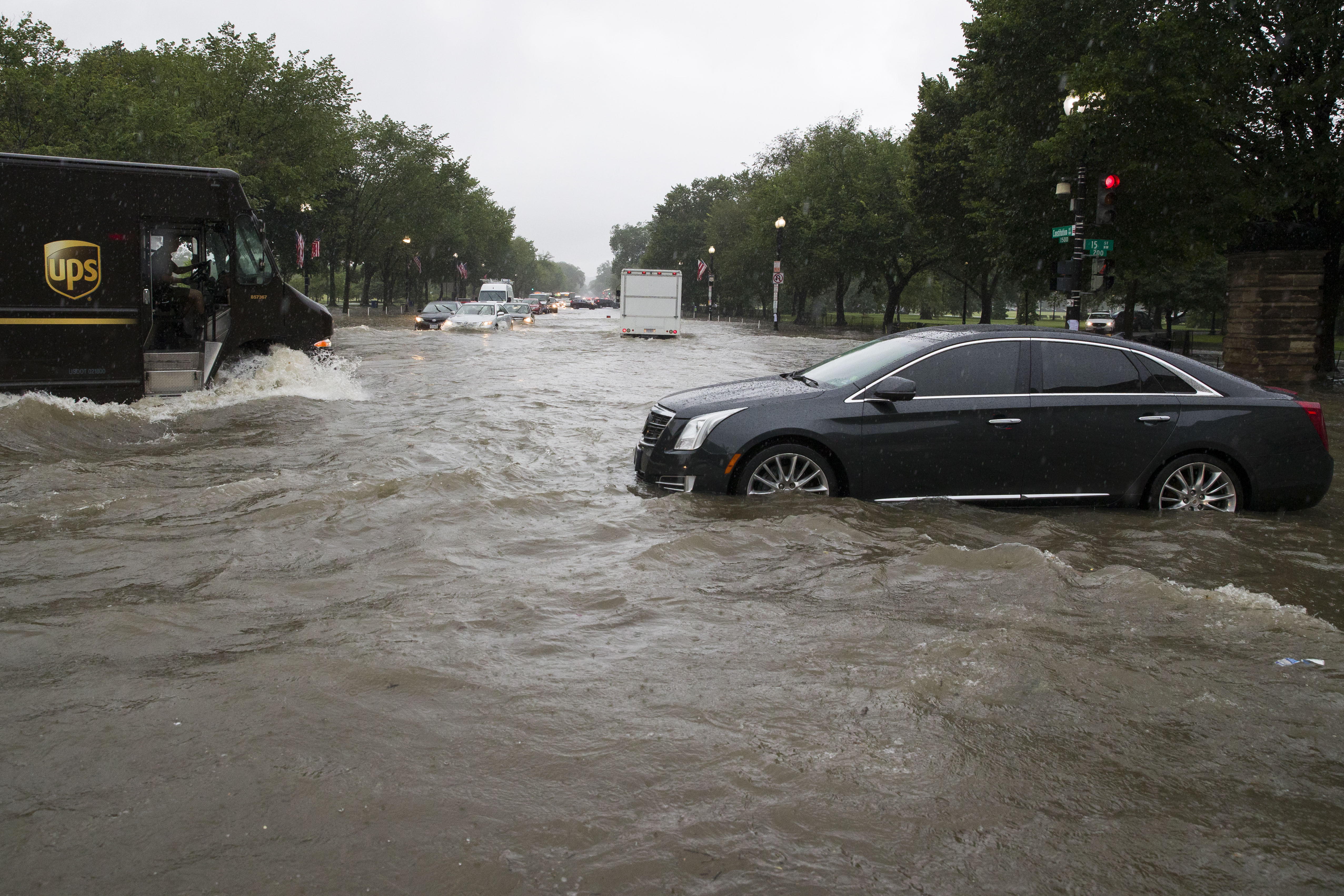 Washington D C Becomes A Literal Swamp With Flash Floods