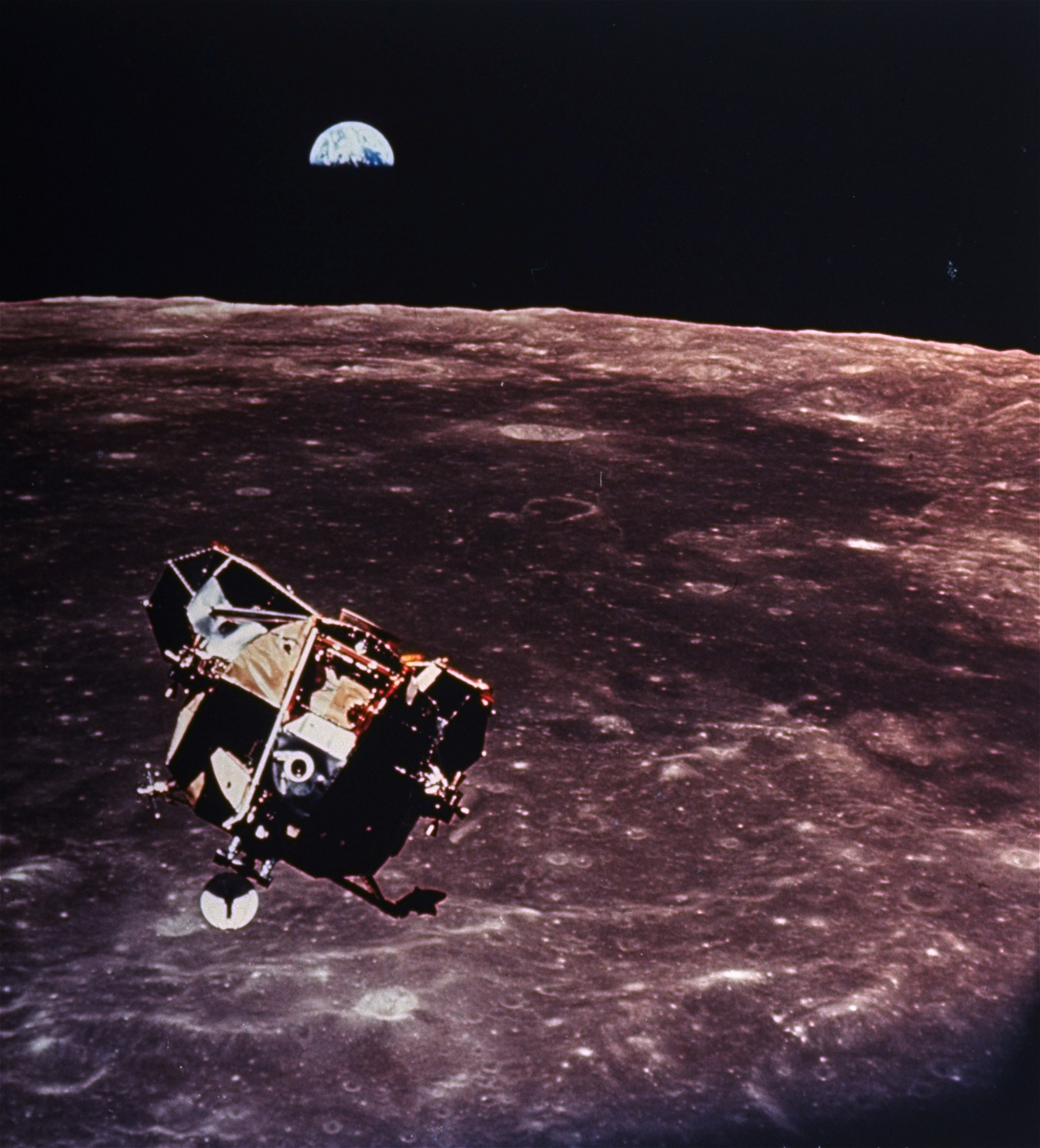 The Apollo 11 moon landing brought a fractured America
