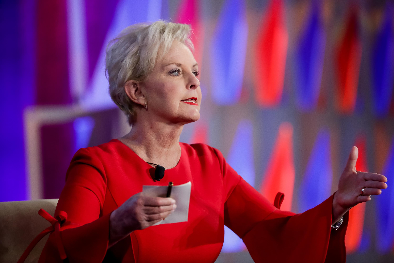 Cindy McCain mum on Trump but praises Utah Sen  Mitt Romney