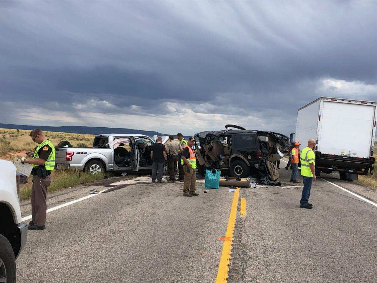 Three killed in head-on crash in southern Utah - Deseret News