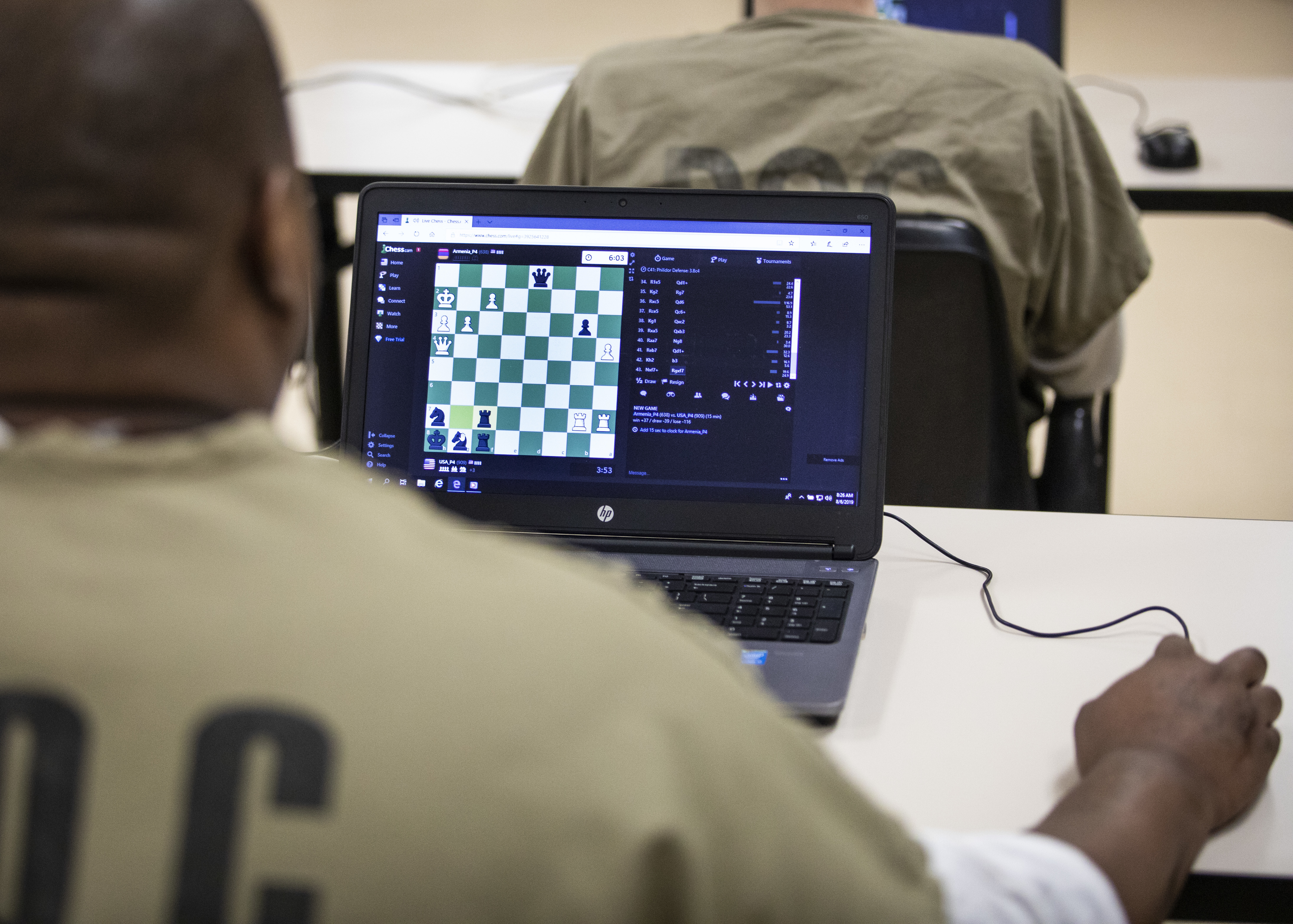 Top Cook County Jail chess players take on the world - Chicago Sun-Times