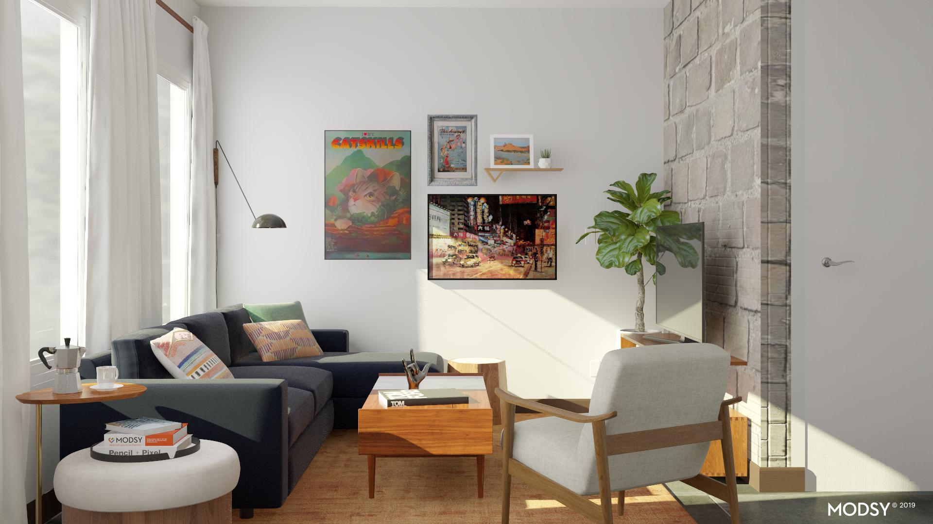 Virtual home makeover: testing Modsy, Havenly, Ikea on my