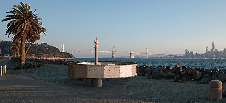 Treasure Island installation uses 36 tons of Bay Bridge steel