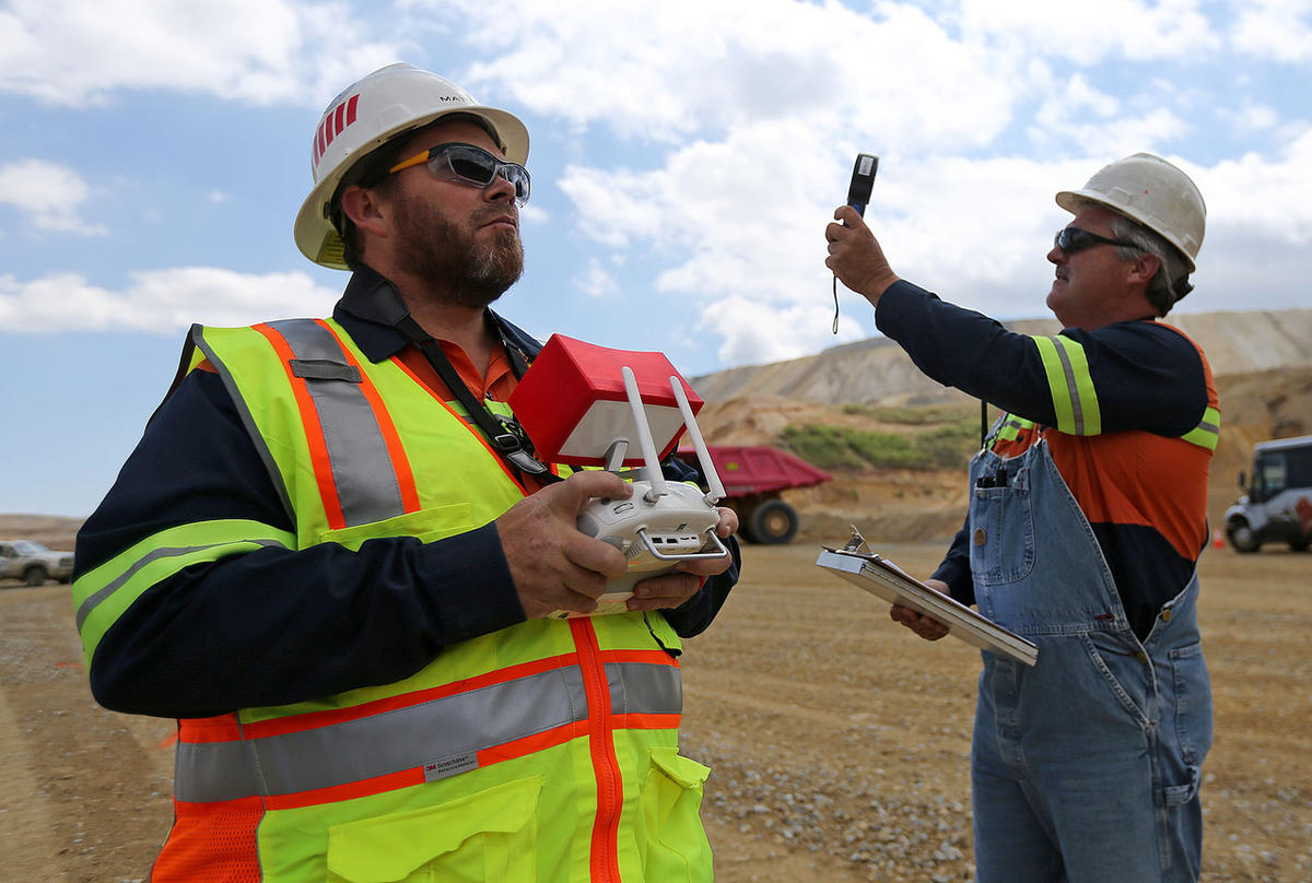 A drone's-eye view of mining safety at Rio Tinto's Kennecott