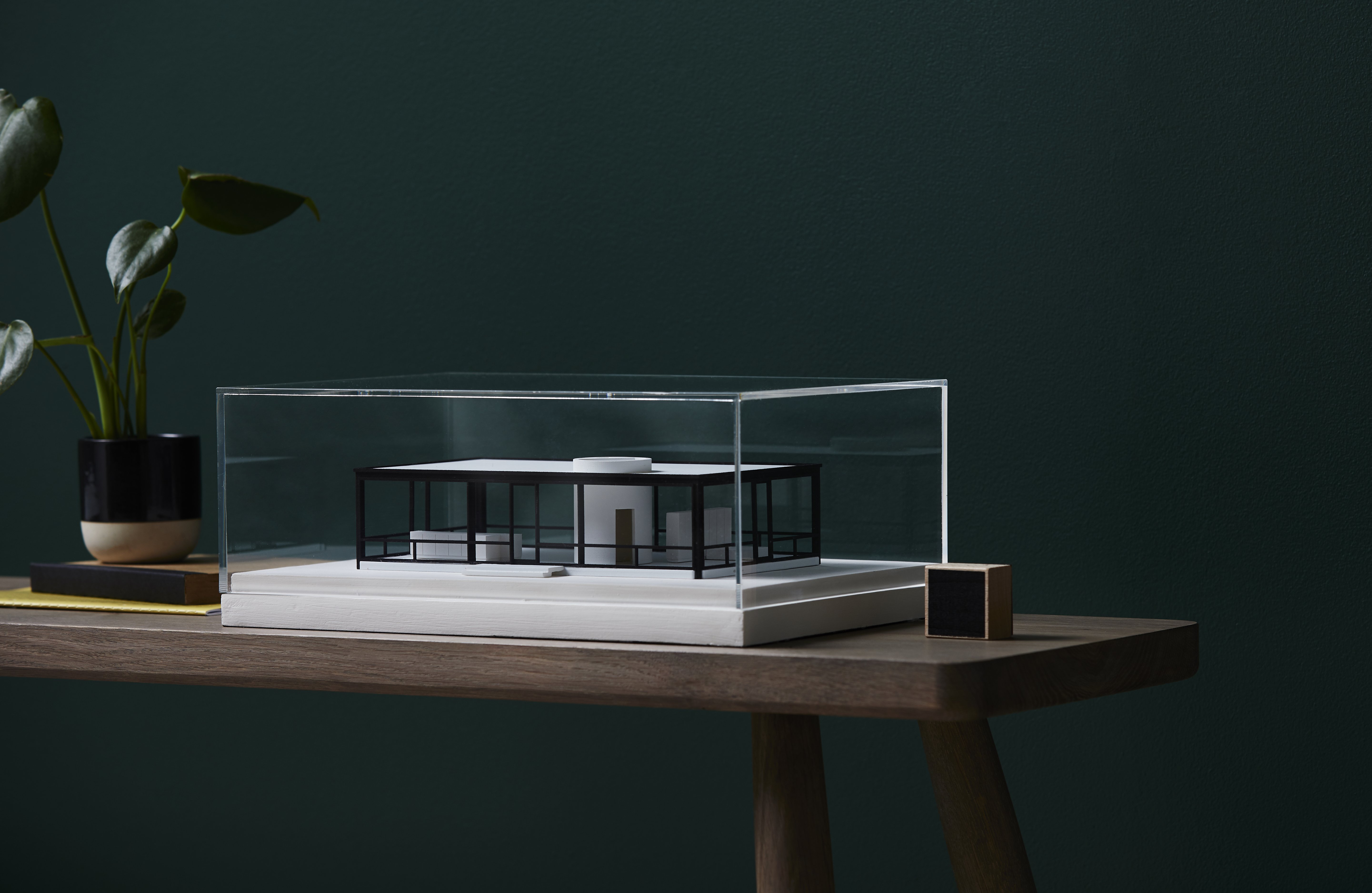You can own a miniature replica of the Glass House for $1,550