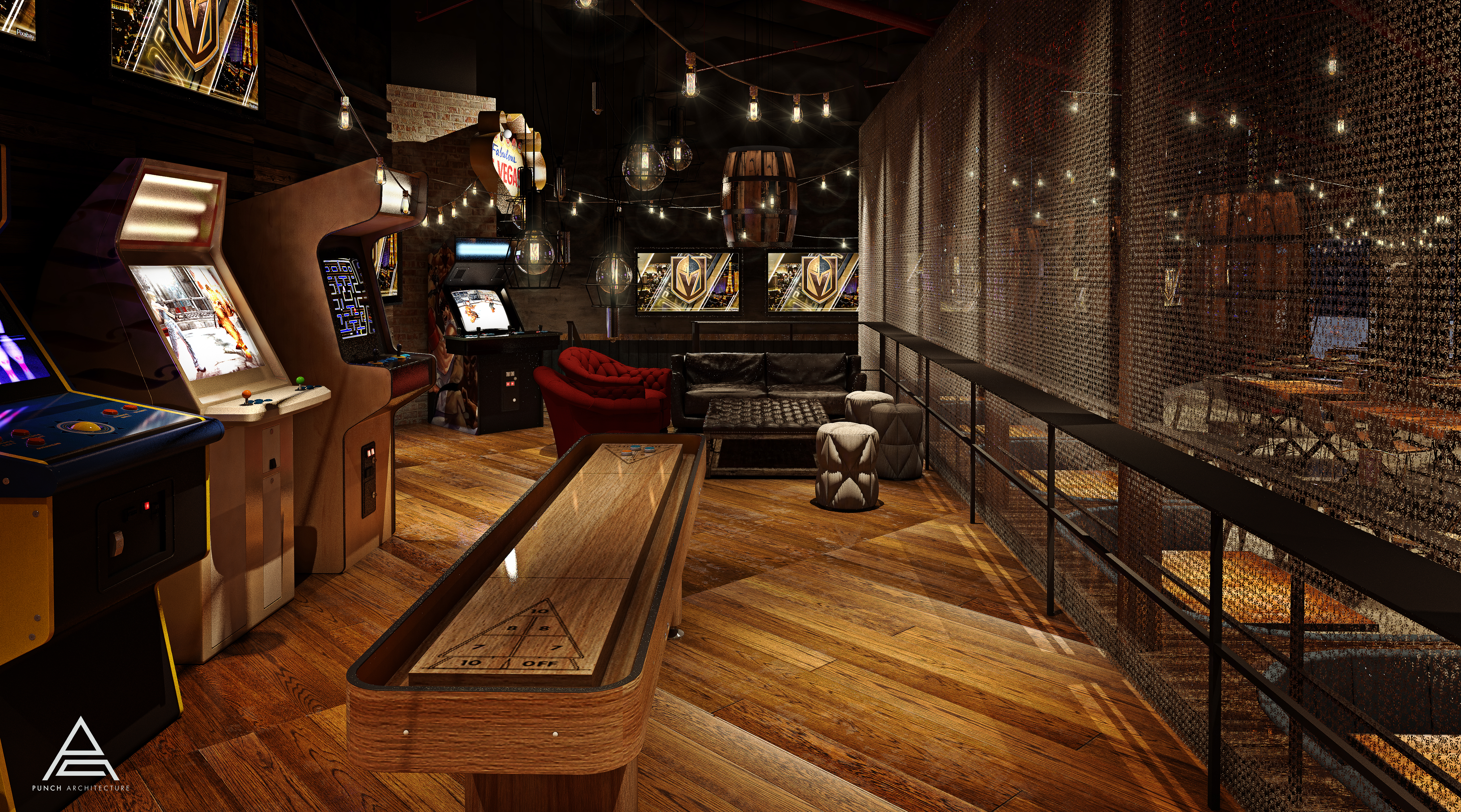 Excalibur Lands a Rustic Sports Bar and Restaurant This Fall