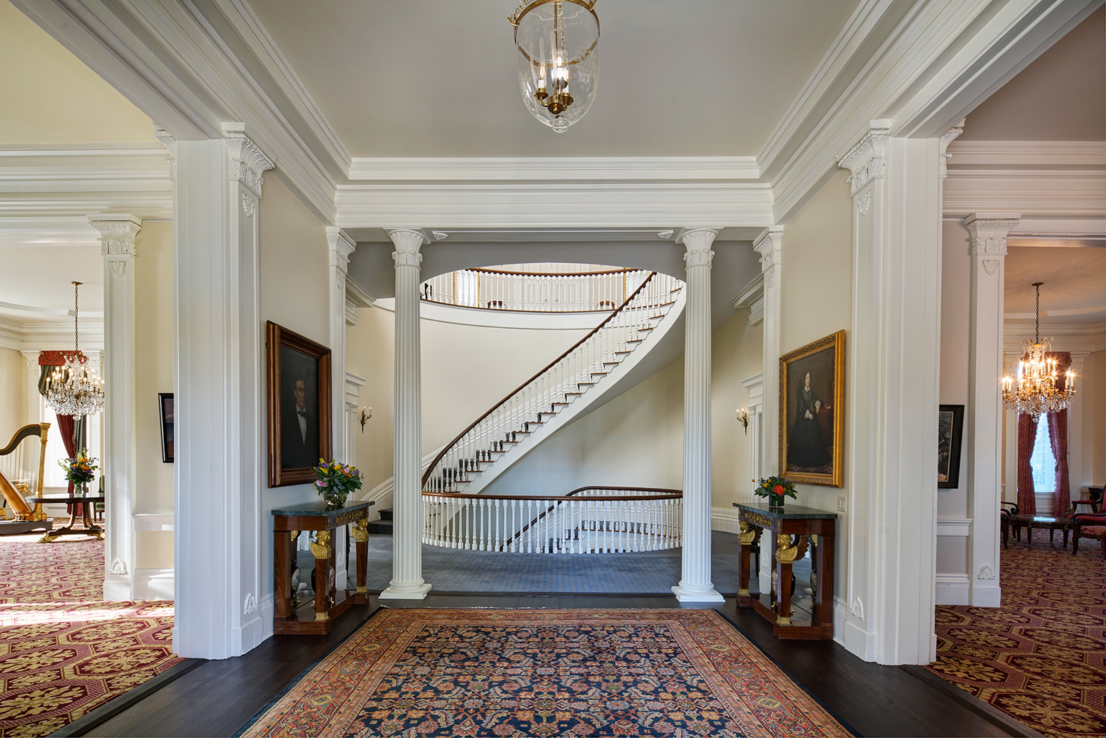 After $15 million update, the Governor's Mansion closes for more renovations