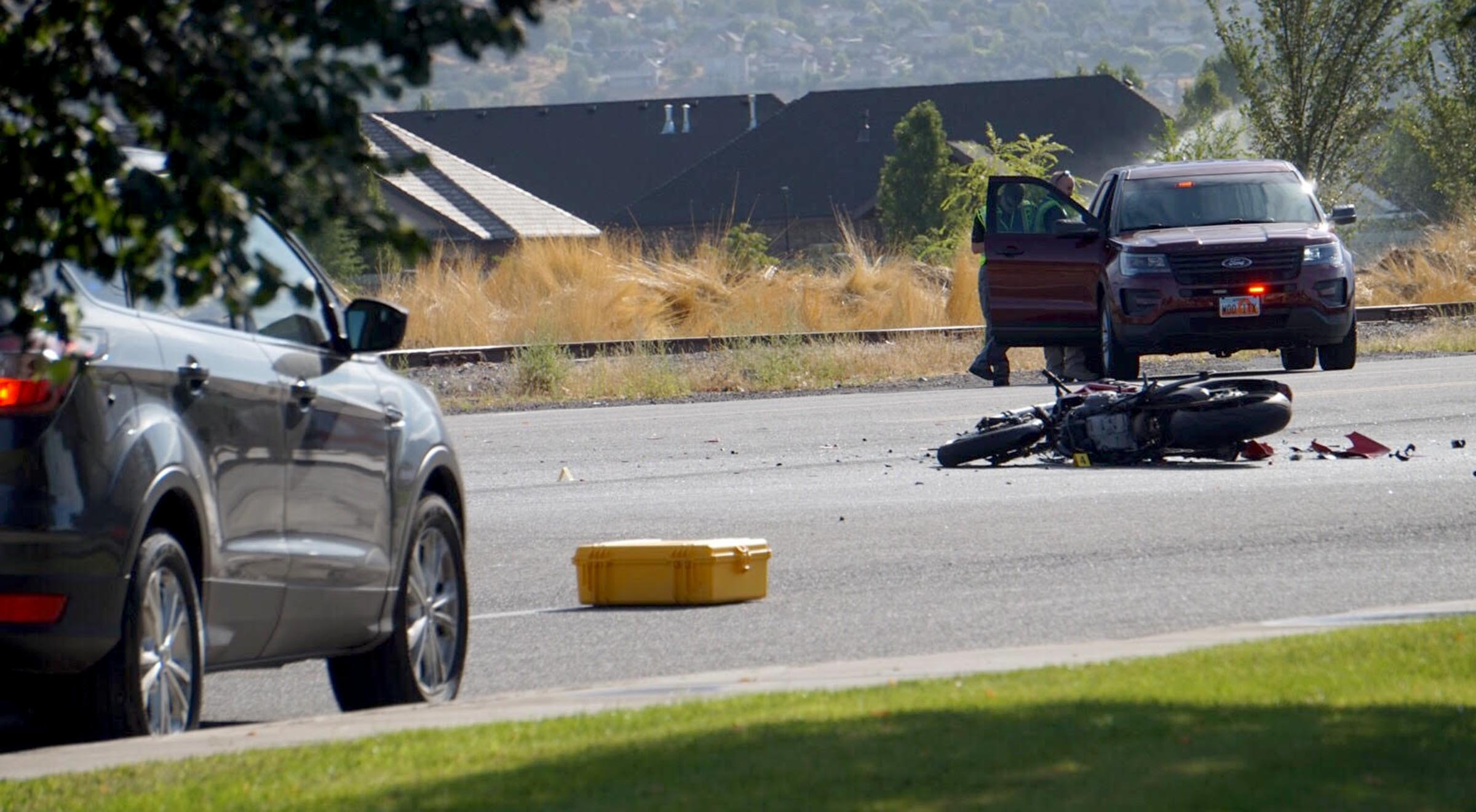 Motorcyclist Killed In Crash In American Fork Deseret News