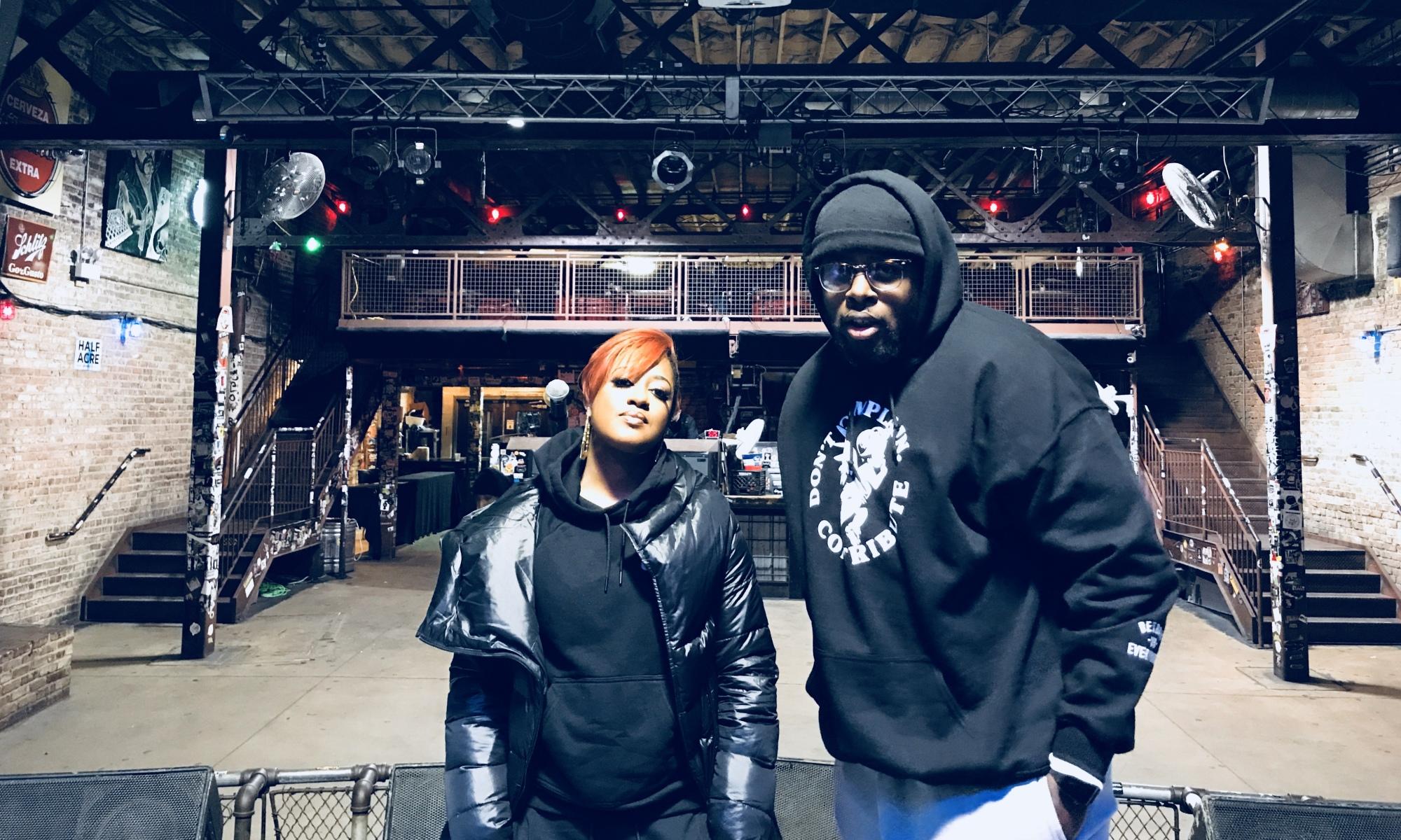 Chris Patterson and Janelle Monae