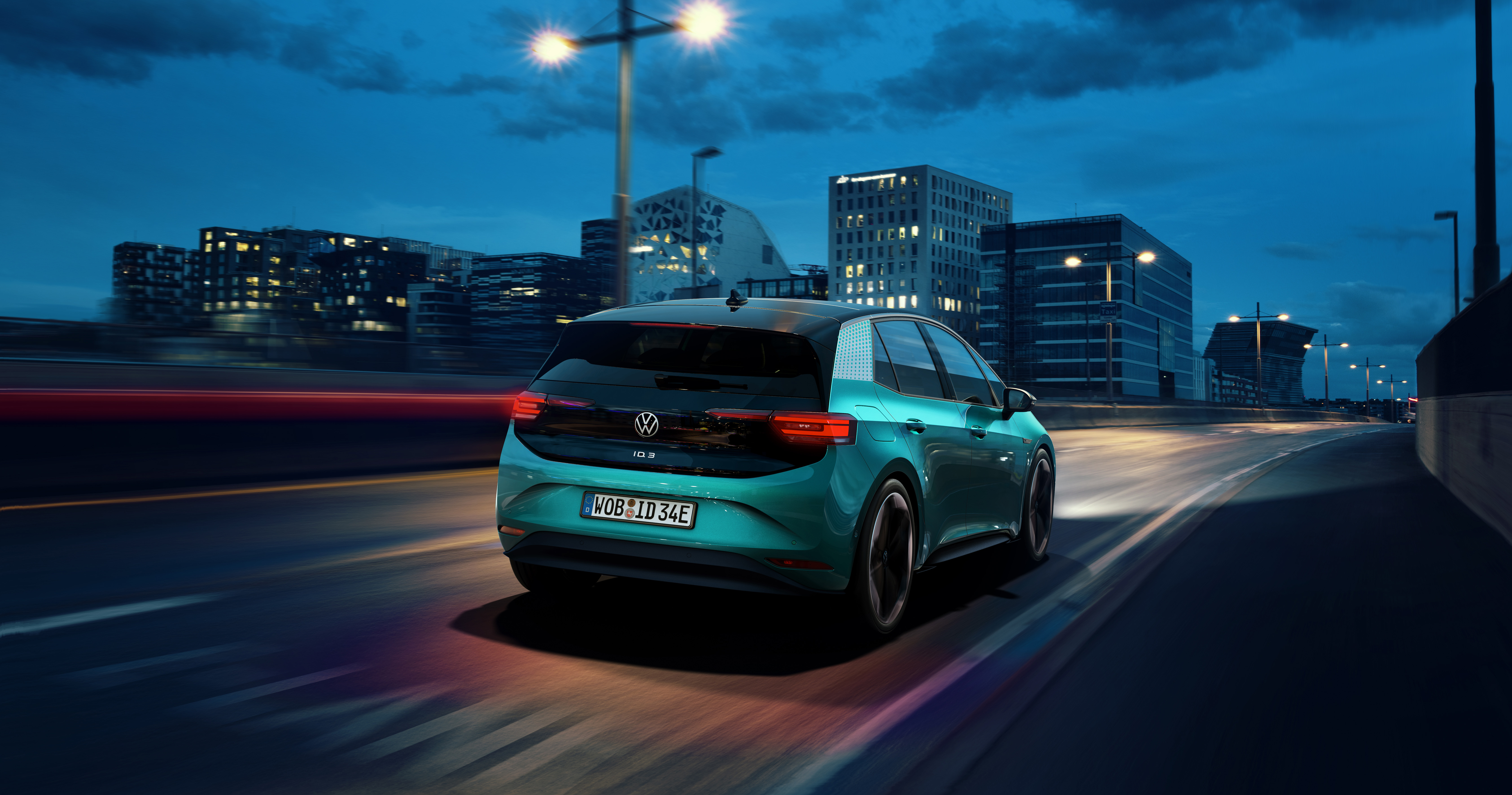 Volkswagen Unveils The Id 3 Its First Electric Car For The Masses The Verge