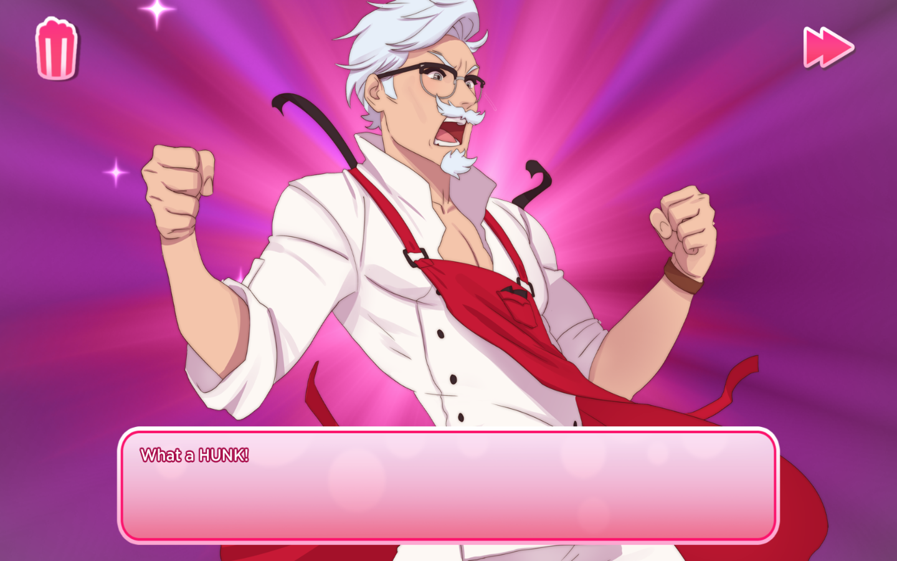 I Spent Three Hours Getting Colonel Sanders to Fall in Love With Me on KFC's New Dating Video Game