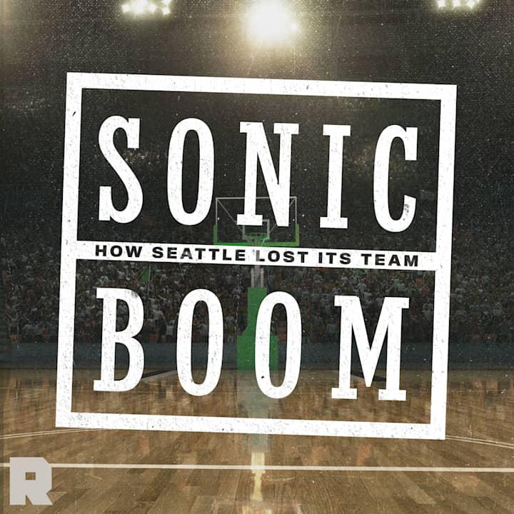 logo podcastu sonic boom