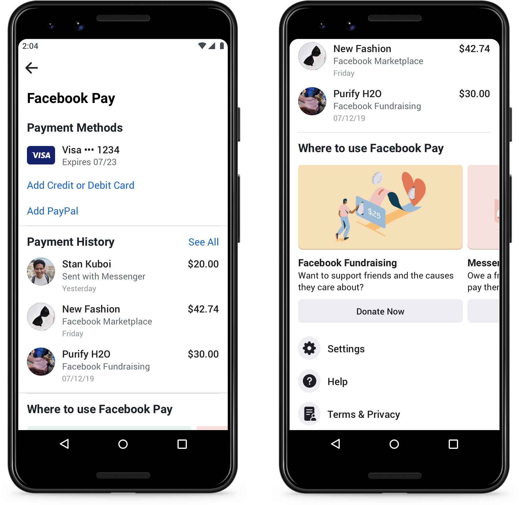 facebook pay launch date in india