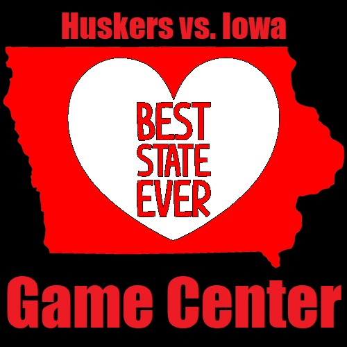 Huskers vs. Iowa 2019 Game Center