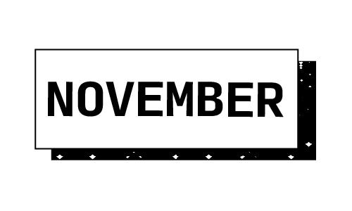 """""""November"""""""