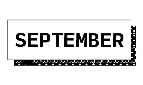 """""""September"""""""