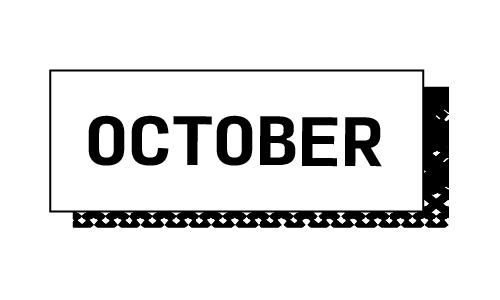 """""""October"""""""