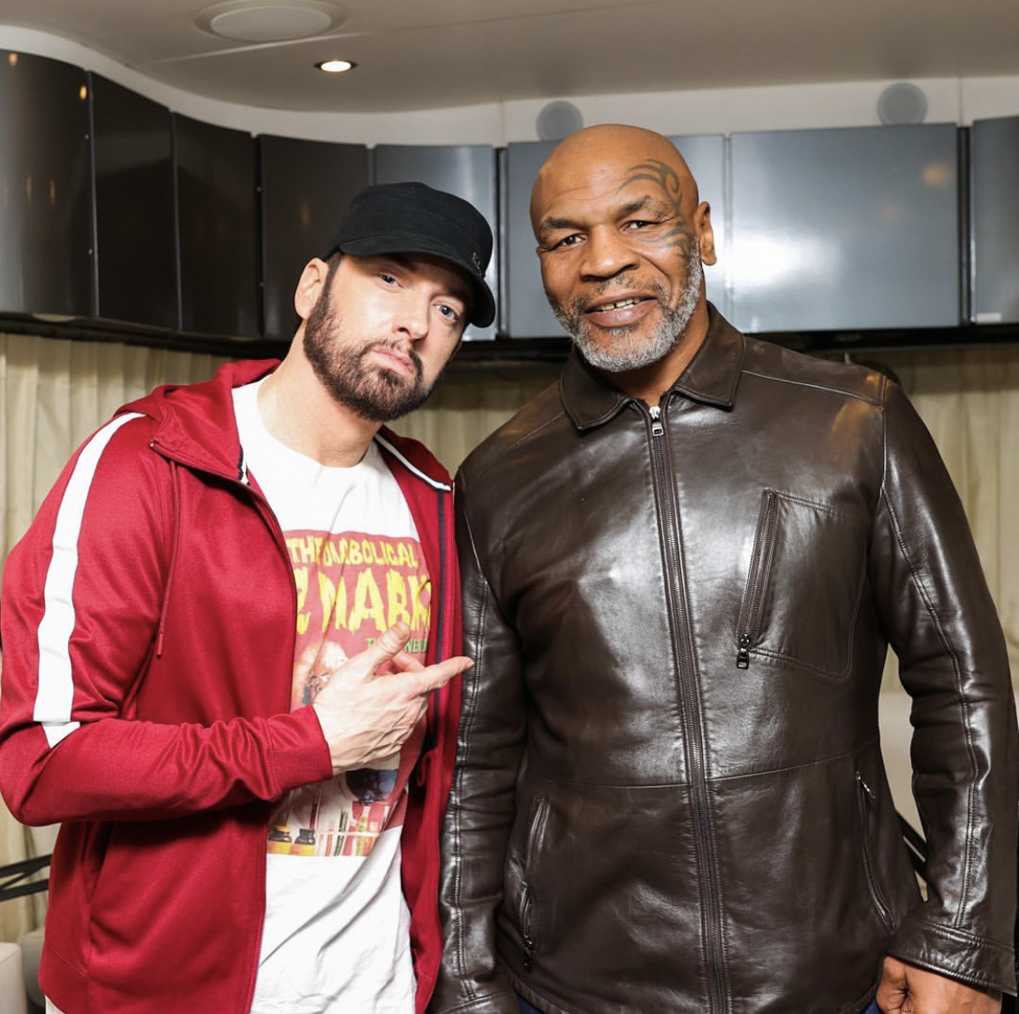 Eminem and Mike Tyson