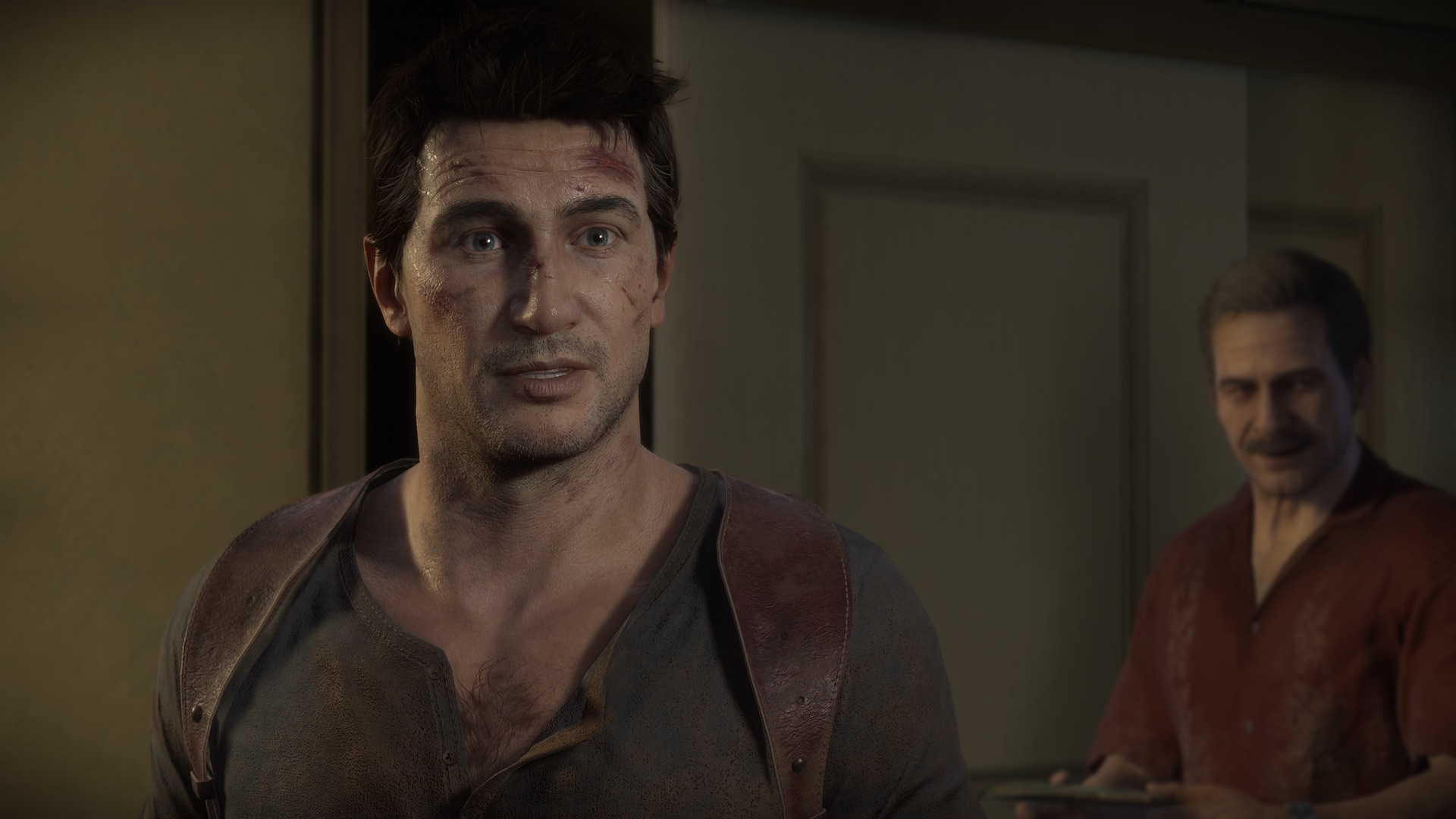 Nate and Sully in Uncharted 4