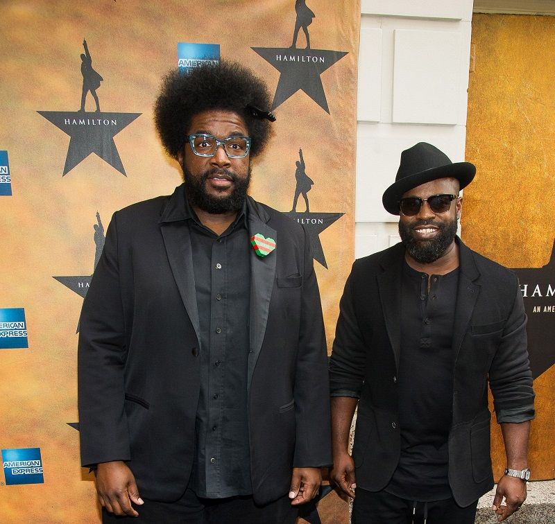 Questlove and Black Thought