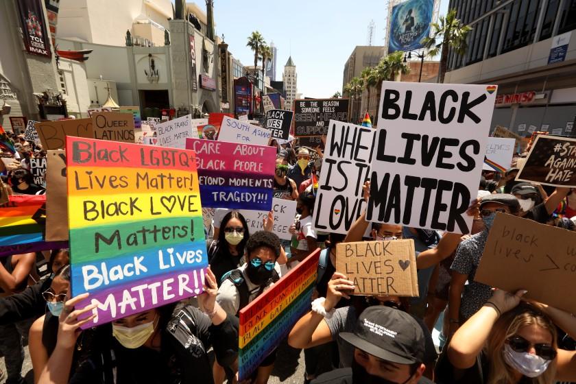 All Black Lives Matter protest