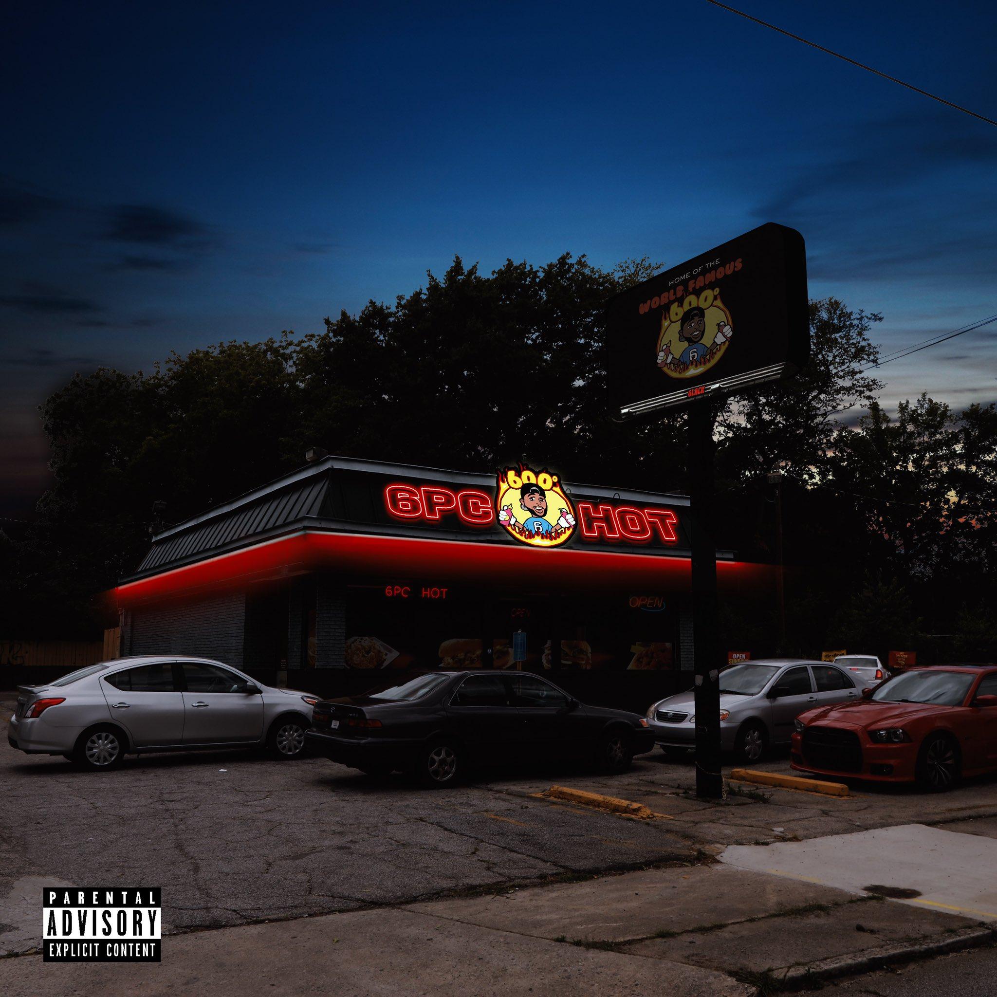 6lack'6pc Hot' EP