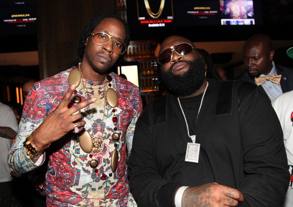 Rick Ross and 2 Chainz
