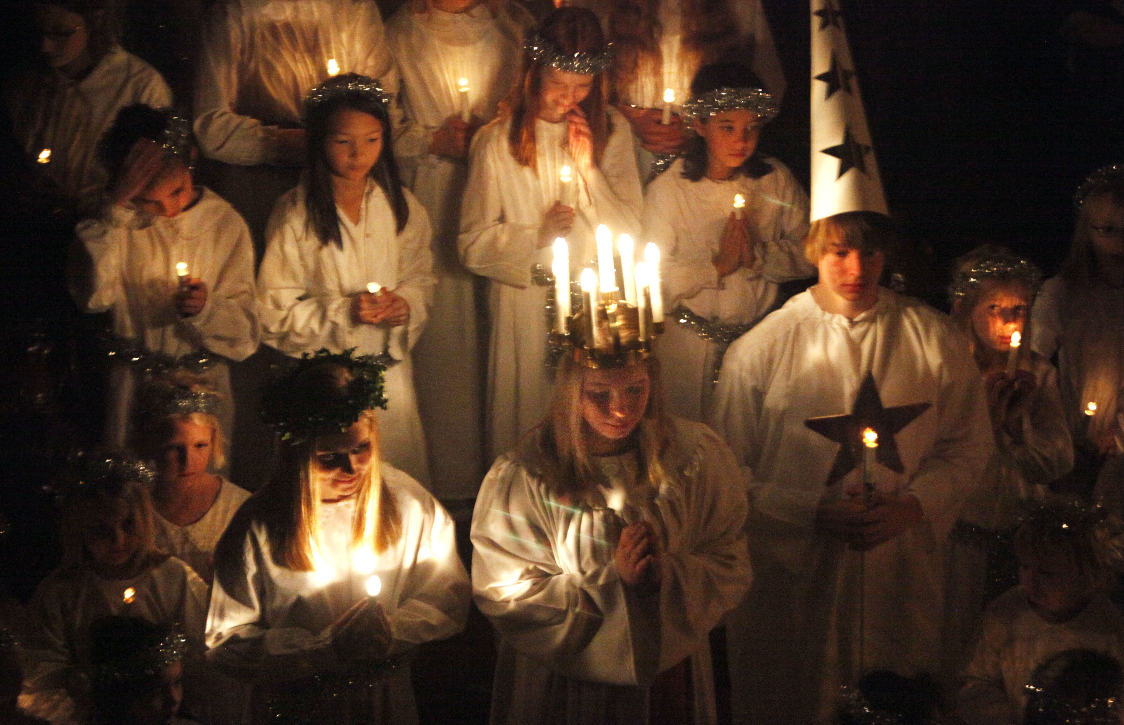 In Sweden and other Scandinavian countries — and Minnesota — St. Lucia is celebrated on Dec. 13.