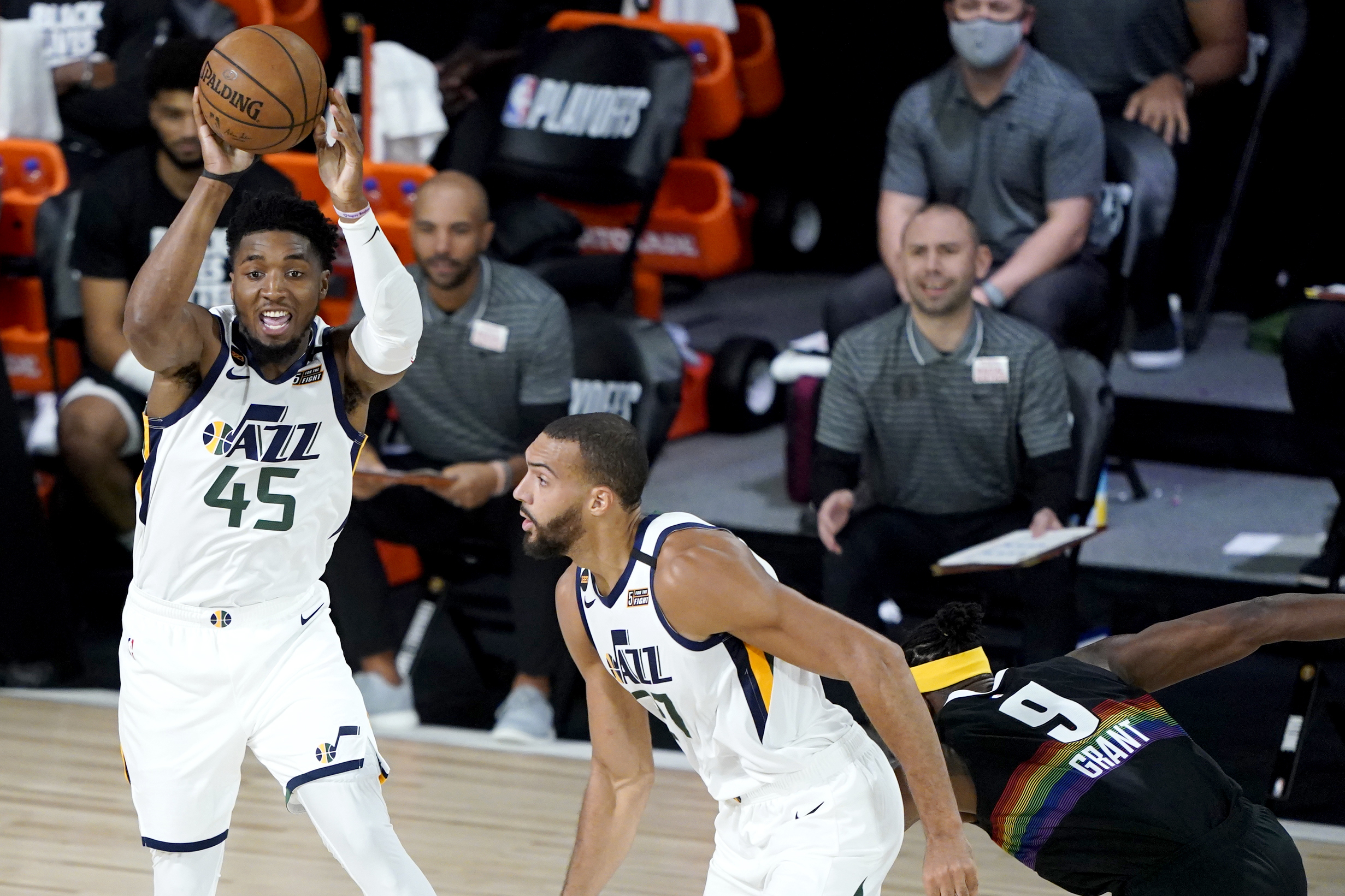 Utah Jazz Rookie Juwan Morgan Excels For Utah Jazz In Loss To Denver Deseret News