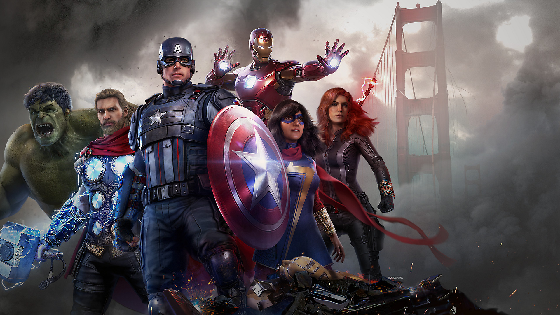 Marvel's Avengers guides and collectibles