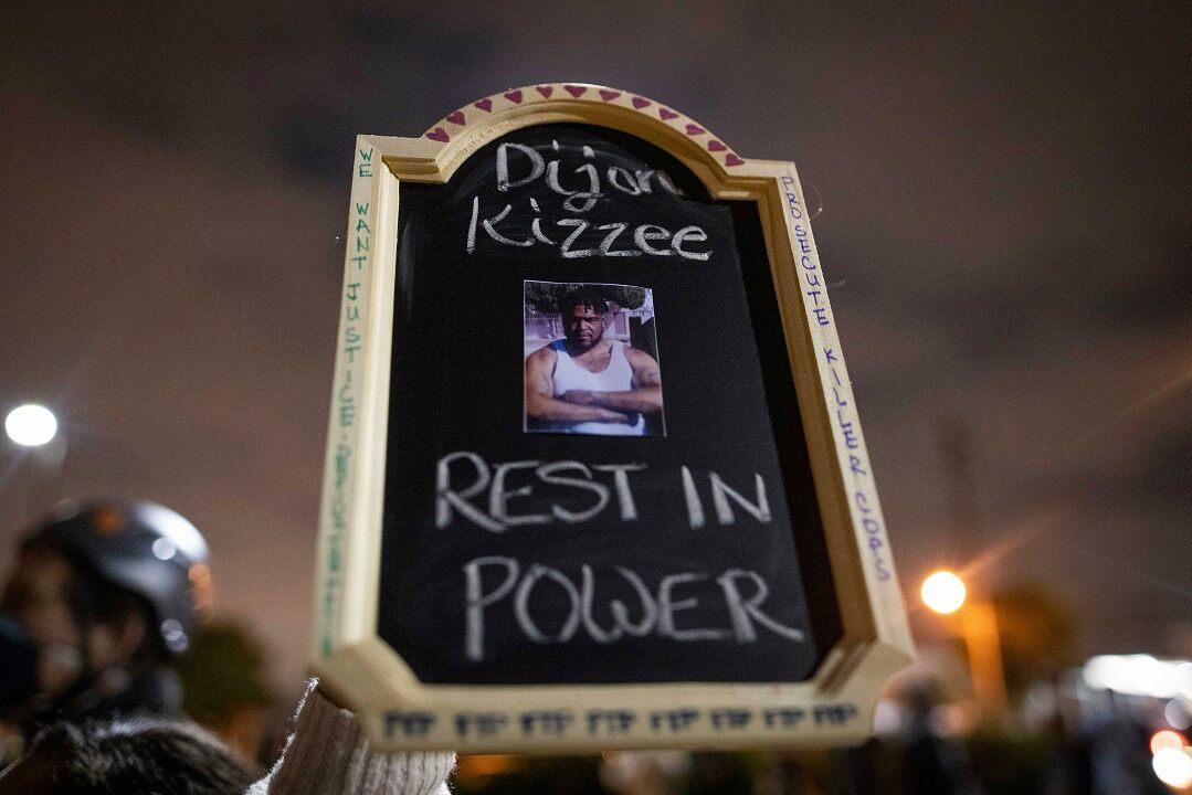 Dijon Kizzee sign