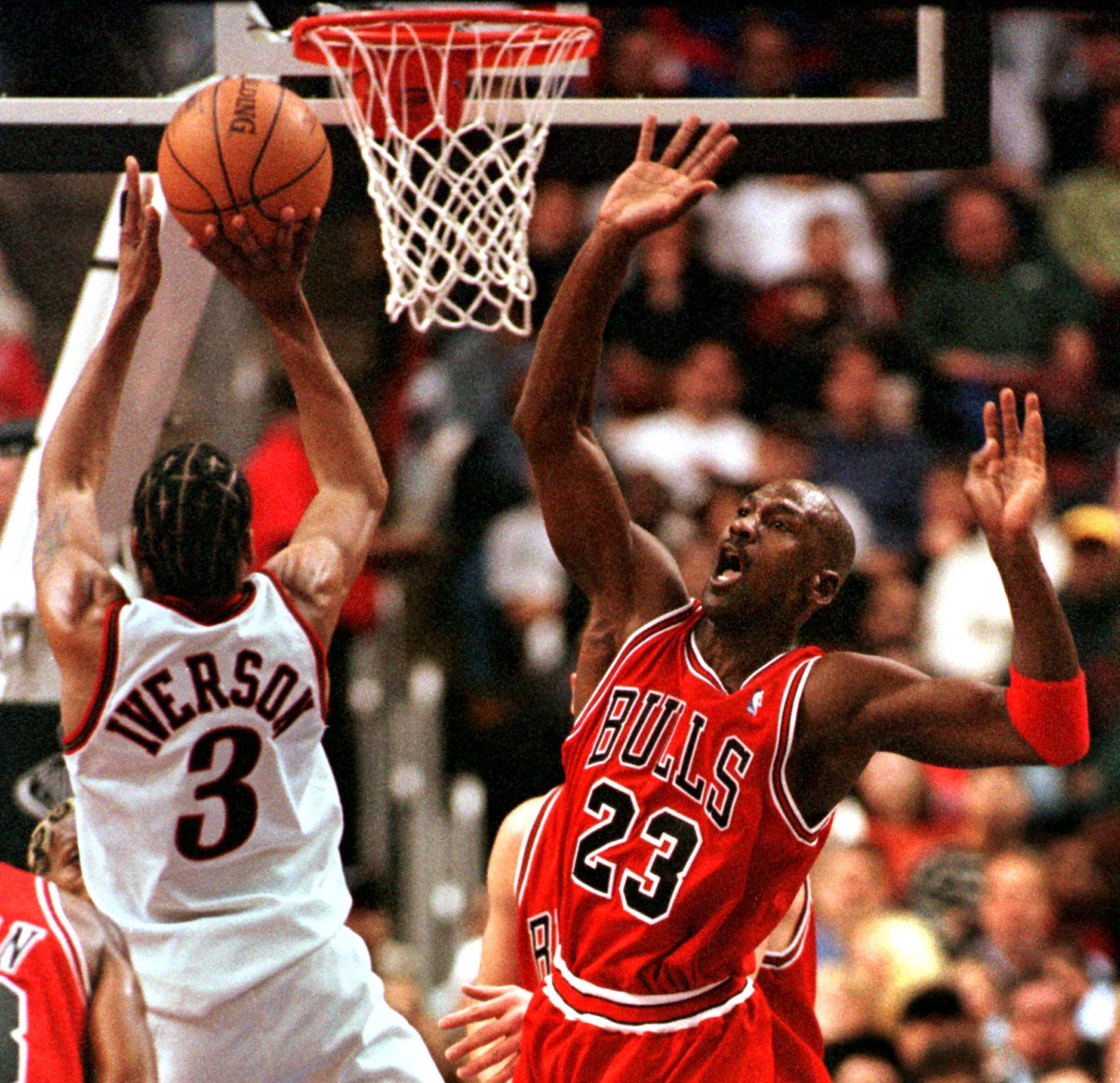 Allen Iverson on Michael Jordan