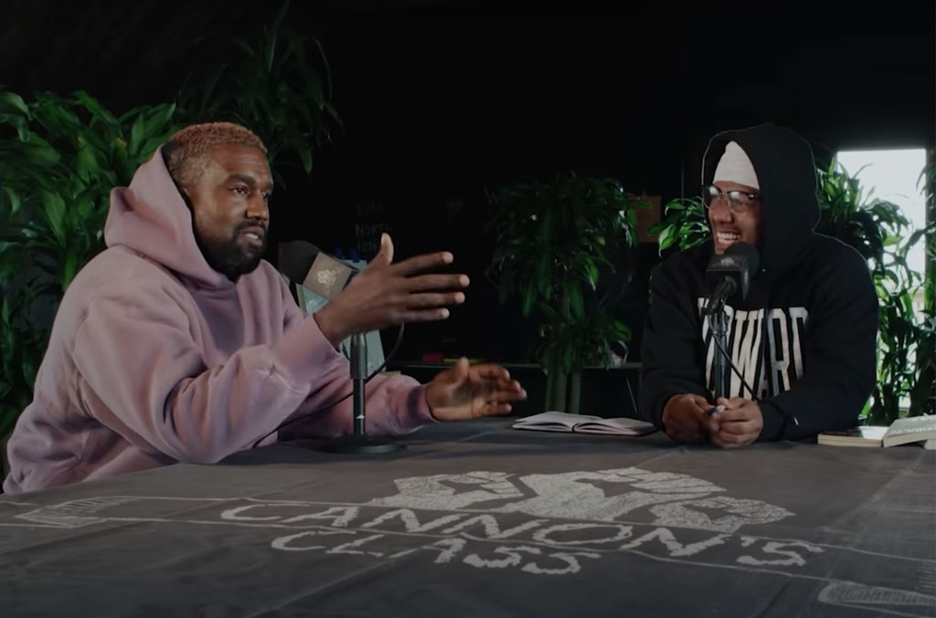 Kanye West, Nick Cannon