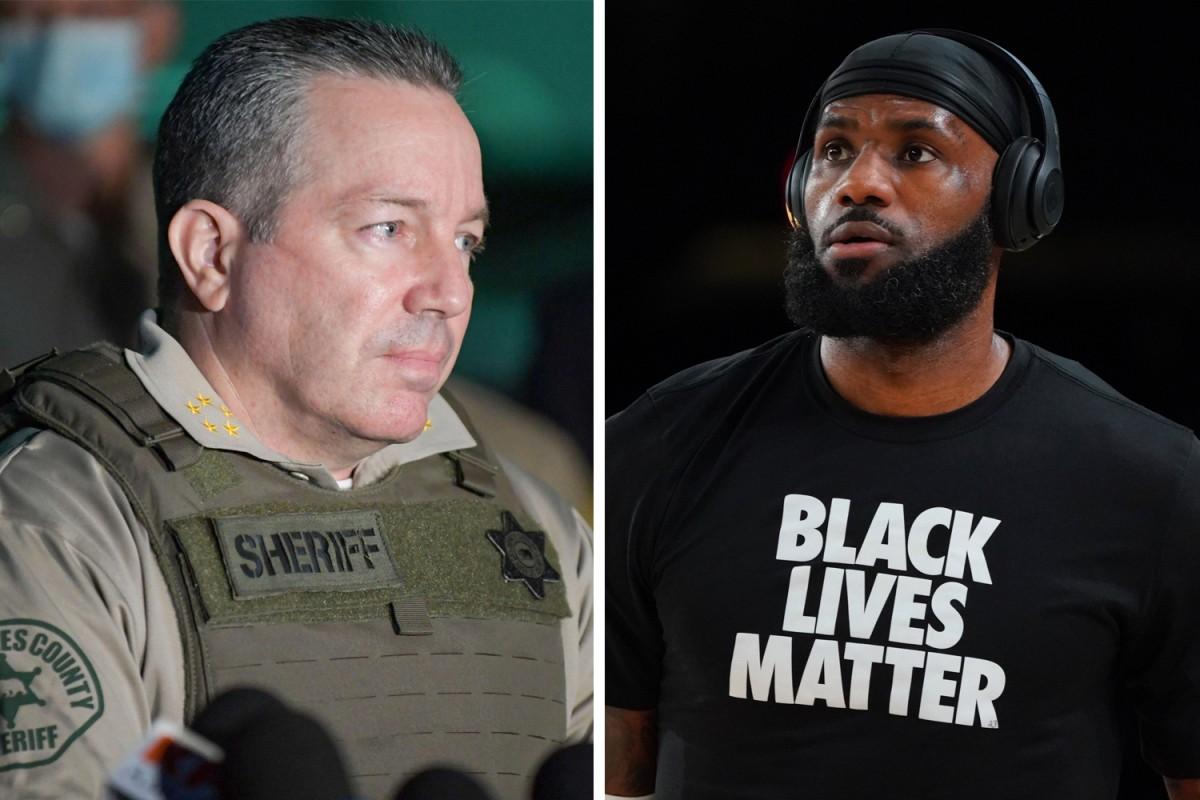 Sheriff Villaneuva/Lebron James