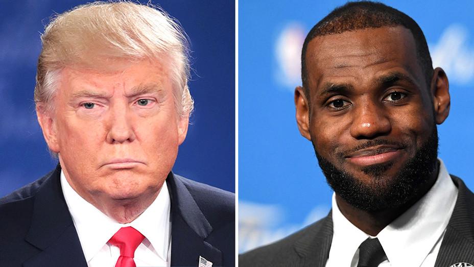 Donald Trump, LeBron James