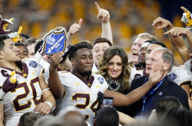 Gophers come in at No. 17 in first College Football Playoff rankings
