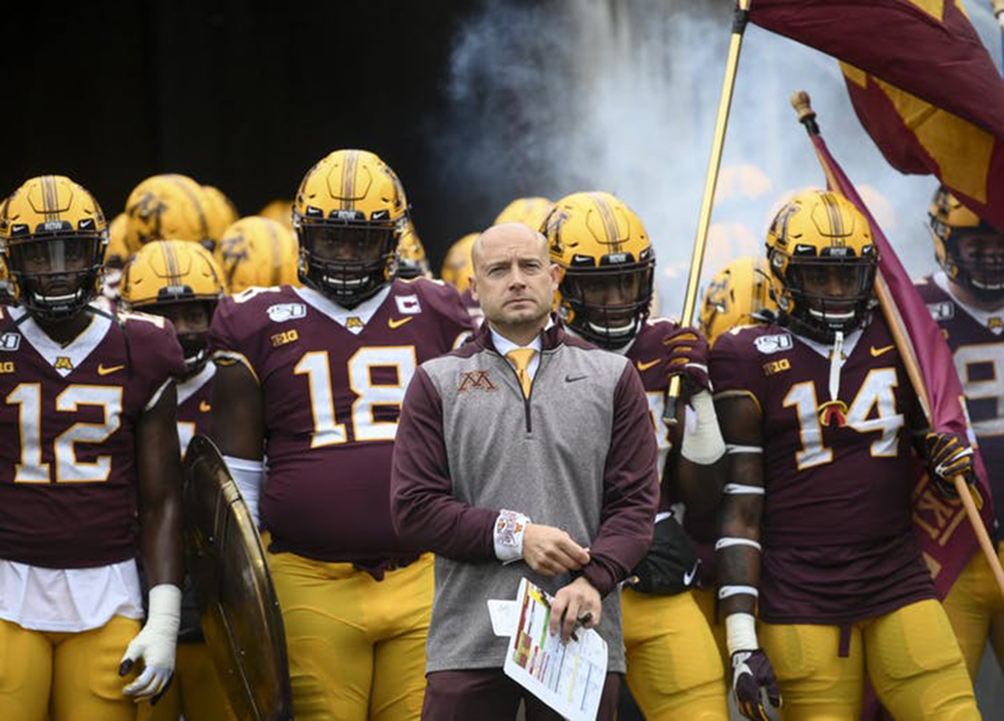 Gophers, Fleck nearing a contract extension