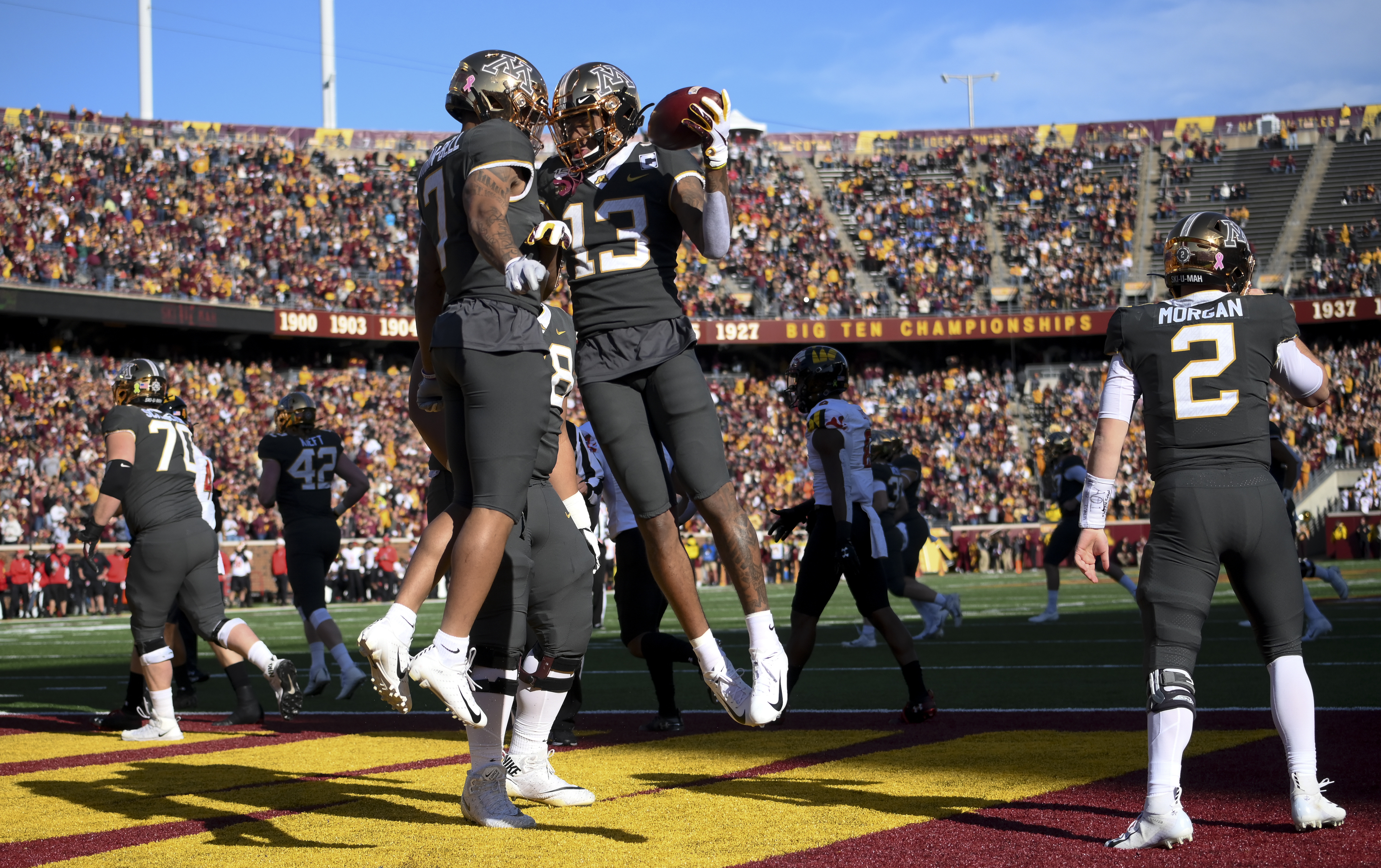 Scoggins: 8-0 Gophers vs. 8-0 Penn State. Who could ask for anything more?
