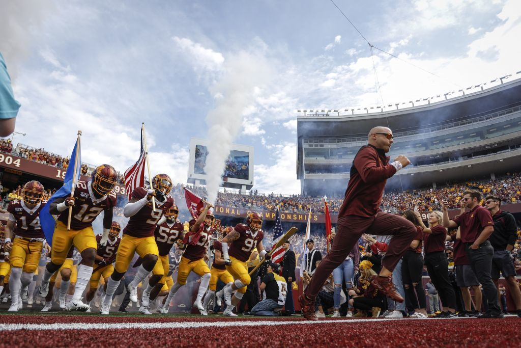 Gophers' goal to contend in November looms as tough assignment