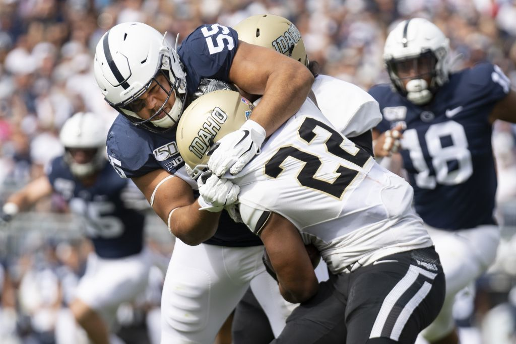 Penn State player suspended for Gophers game after spitting on opponent