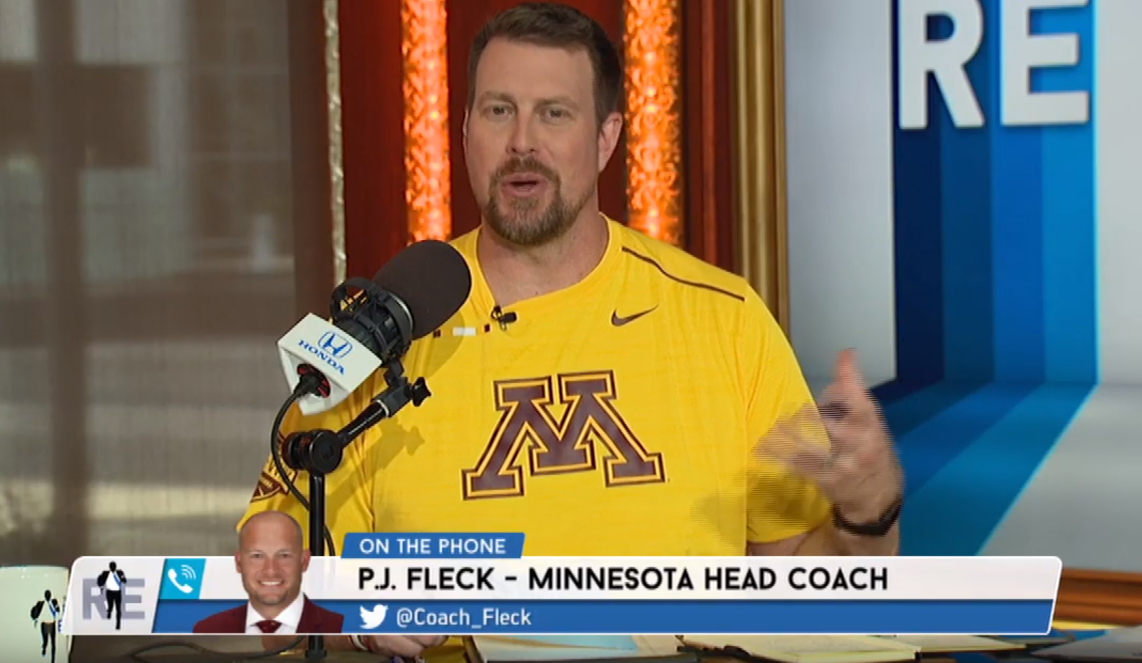ESPN analyst Leaf on U football: 'I was the first one on the boat'